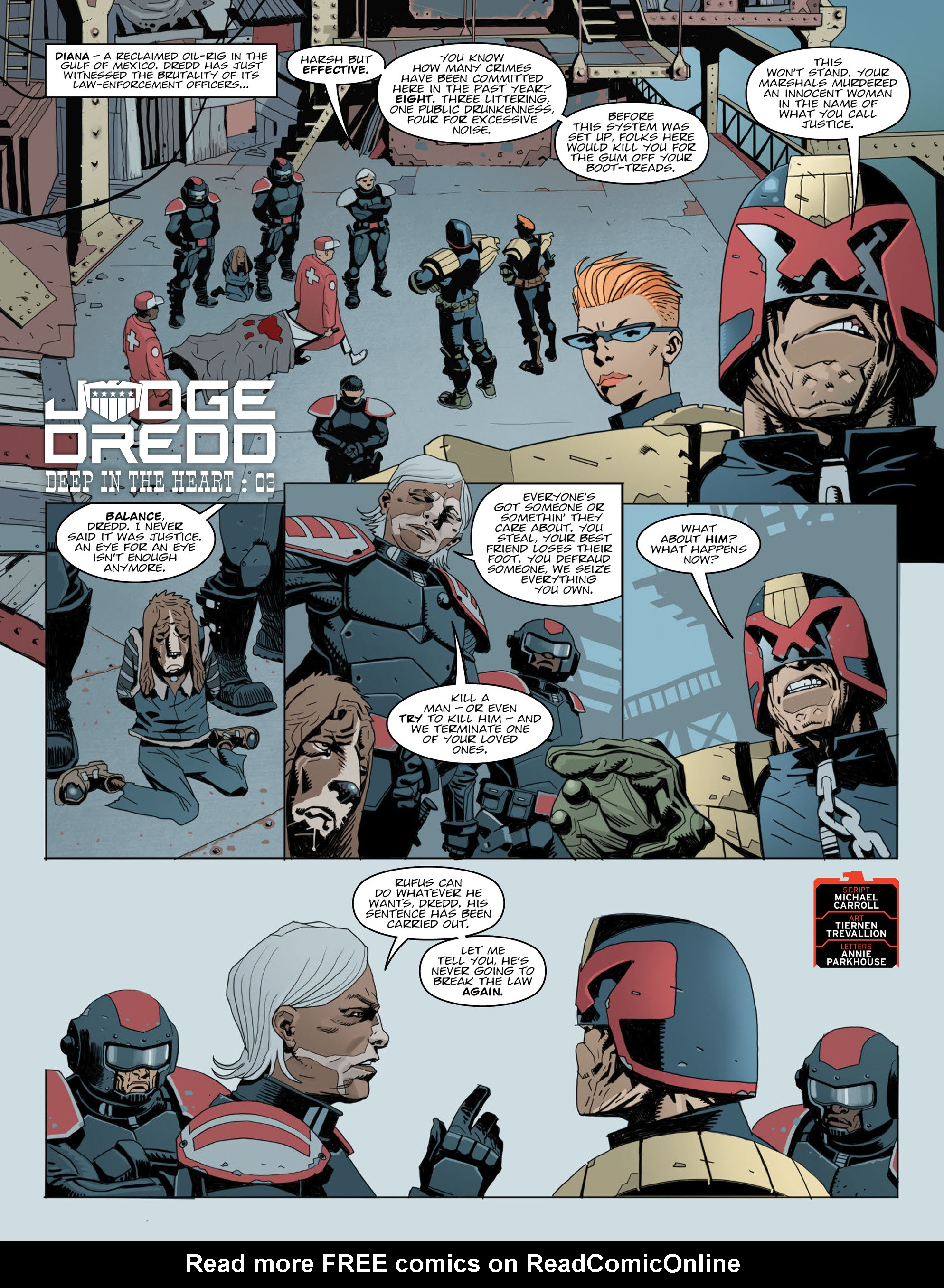 Read online 2000 AD comic -  Issue #2014 - 3