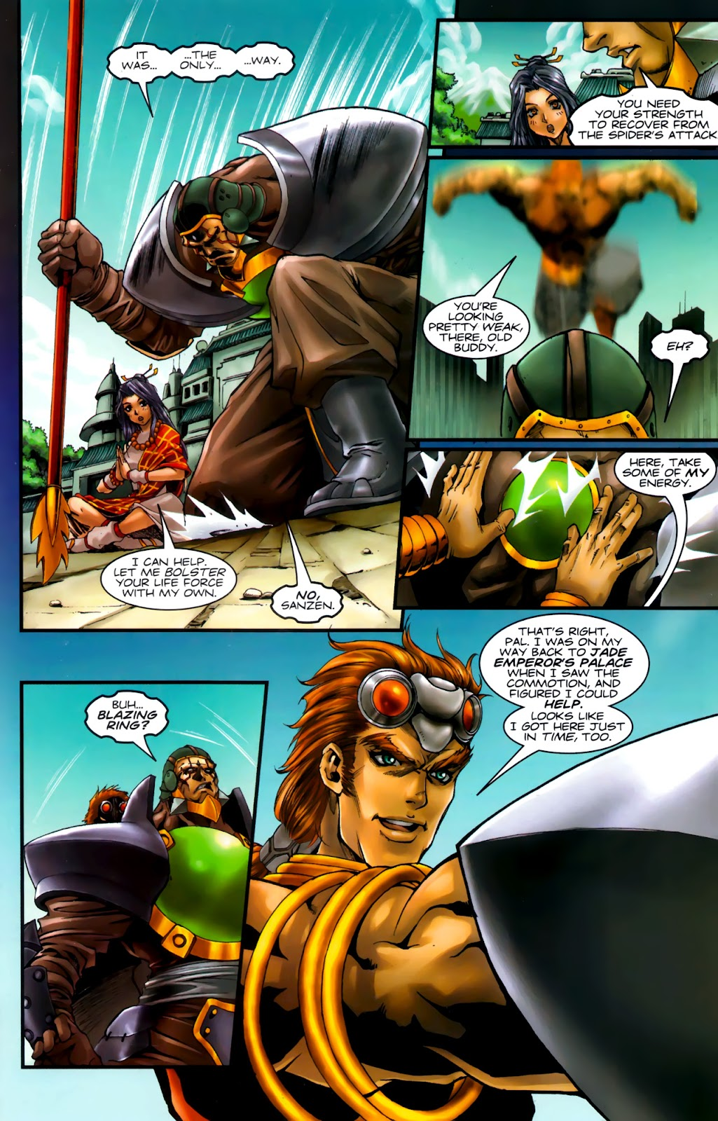 Read online Xin: Journey of the Monkey King comic -  Issue #3 - 18