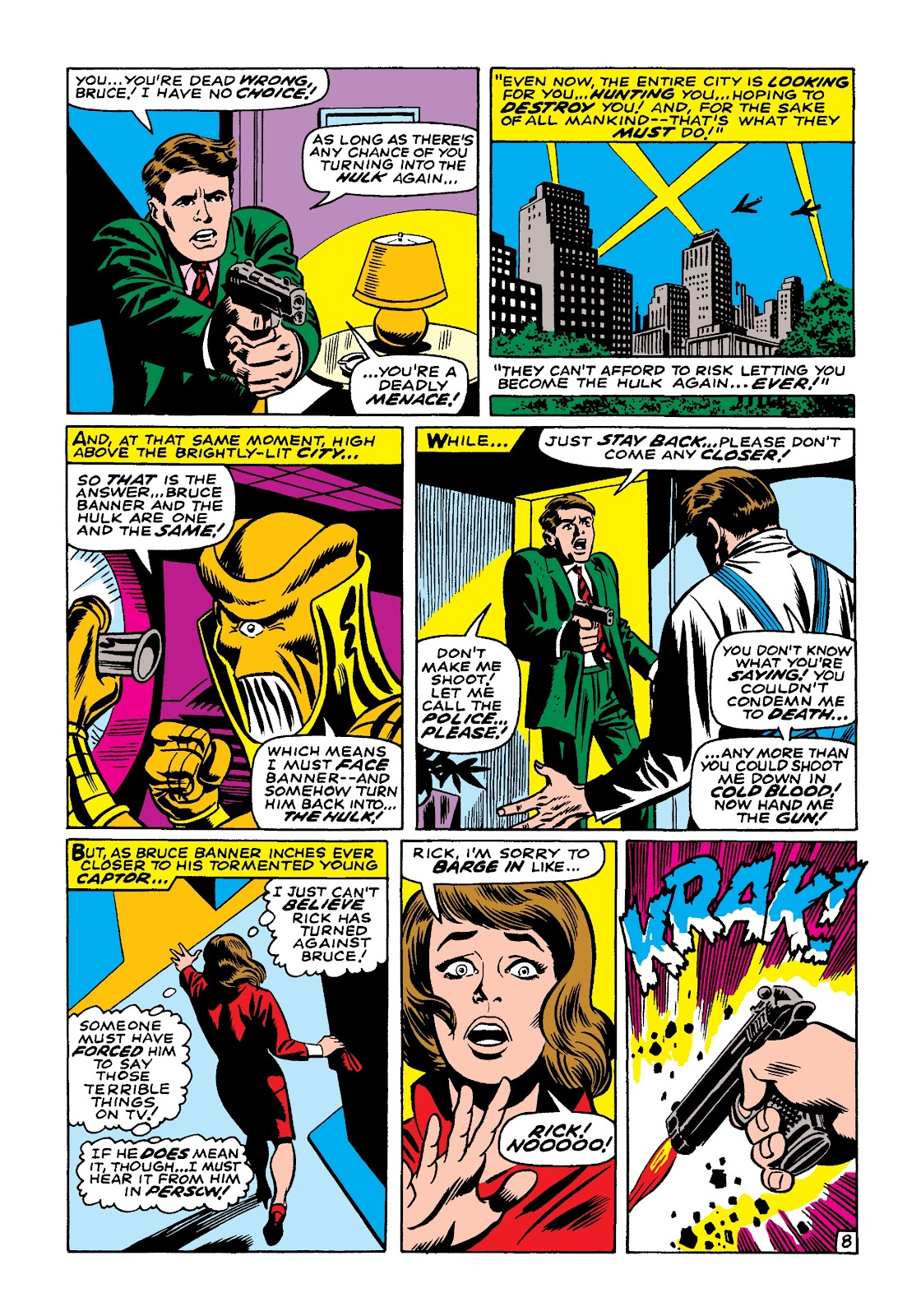 Read online Marvel Masterworks: The Incredible Hulk comic -  Issue # TPB 4 (Part 1) - 15