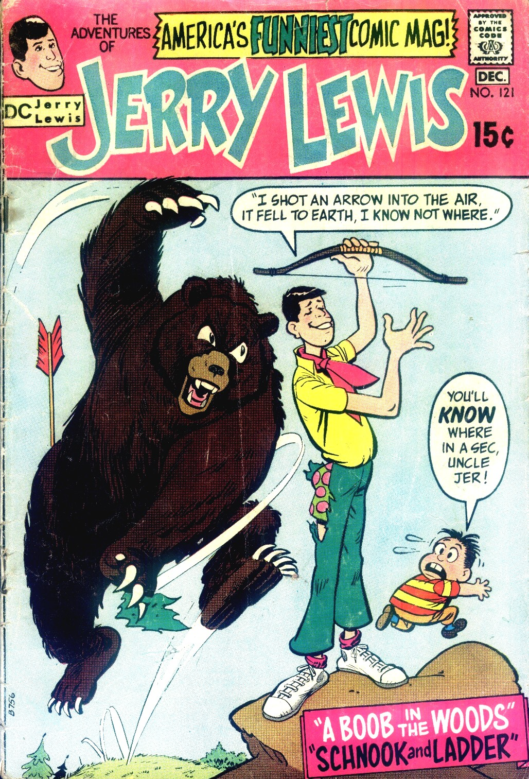 The Adventures of Jerry Lewis 121 Page 1