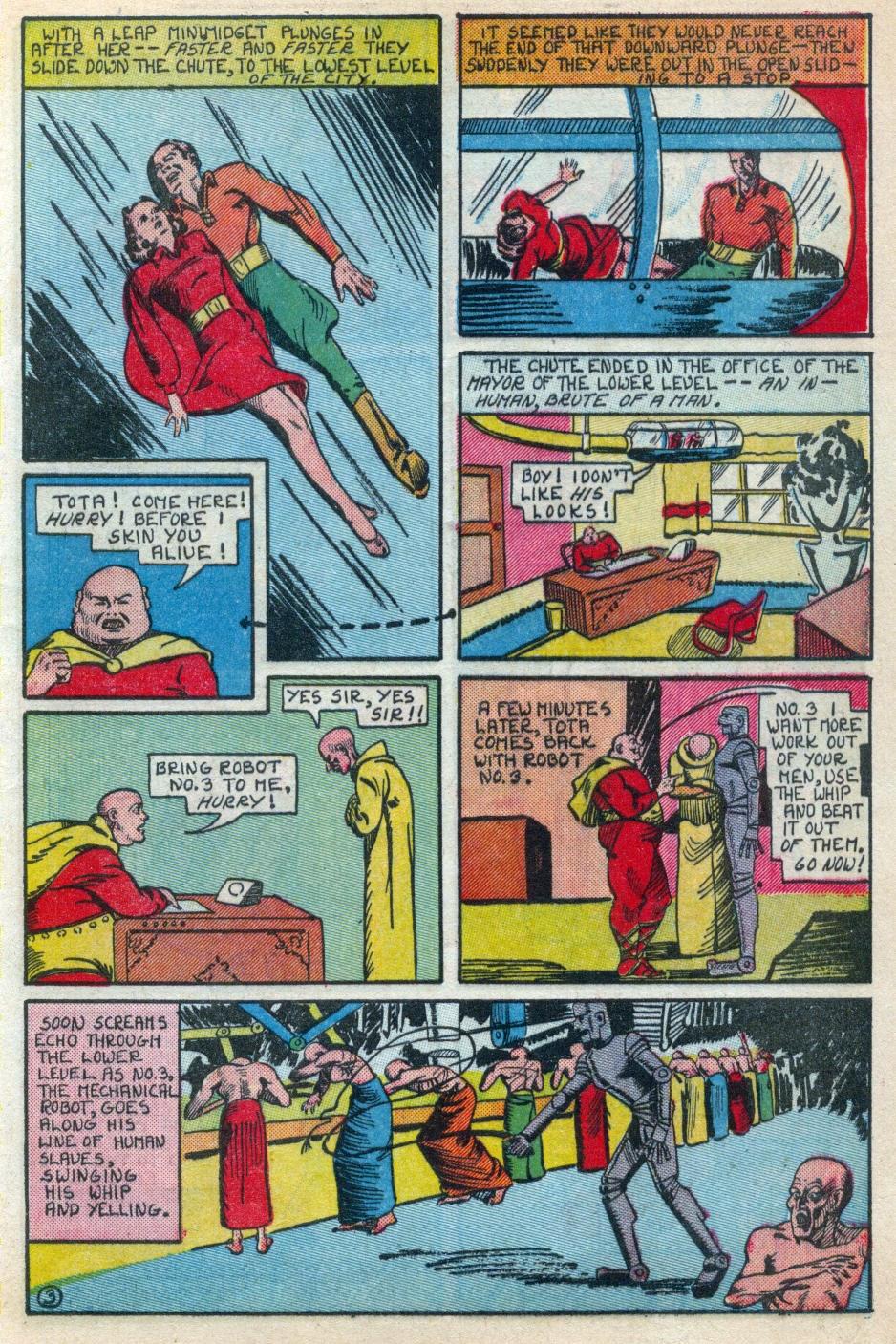 Read online Amazing Man Comics comic -  Issue #15 - 14