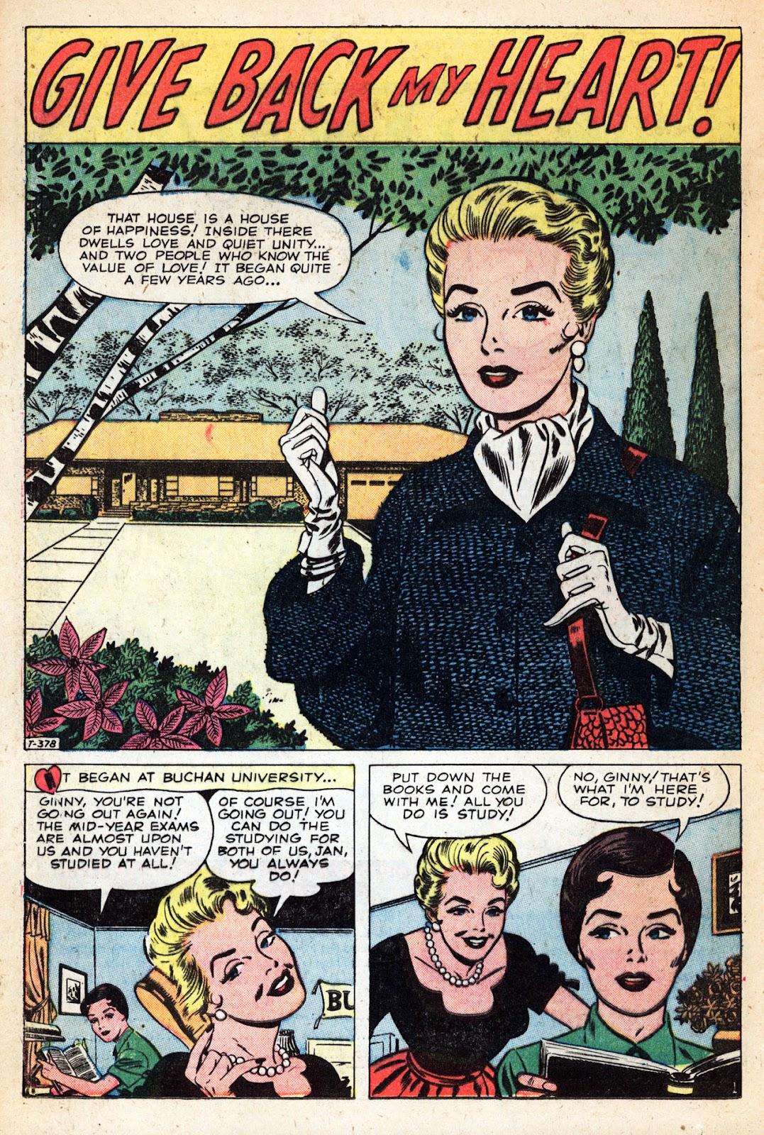 Love Romances (1949) issue 83 - Page 16