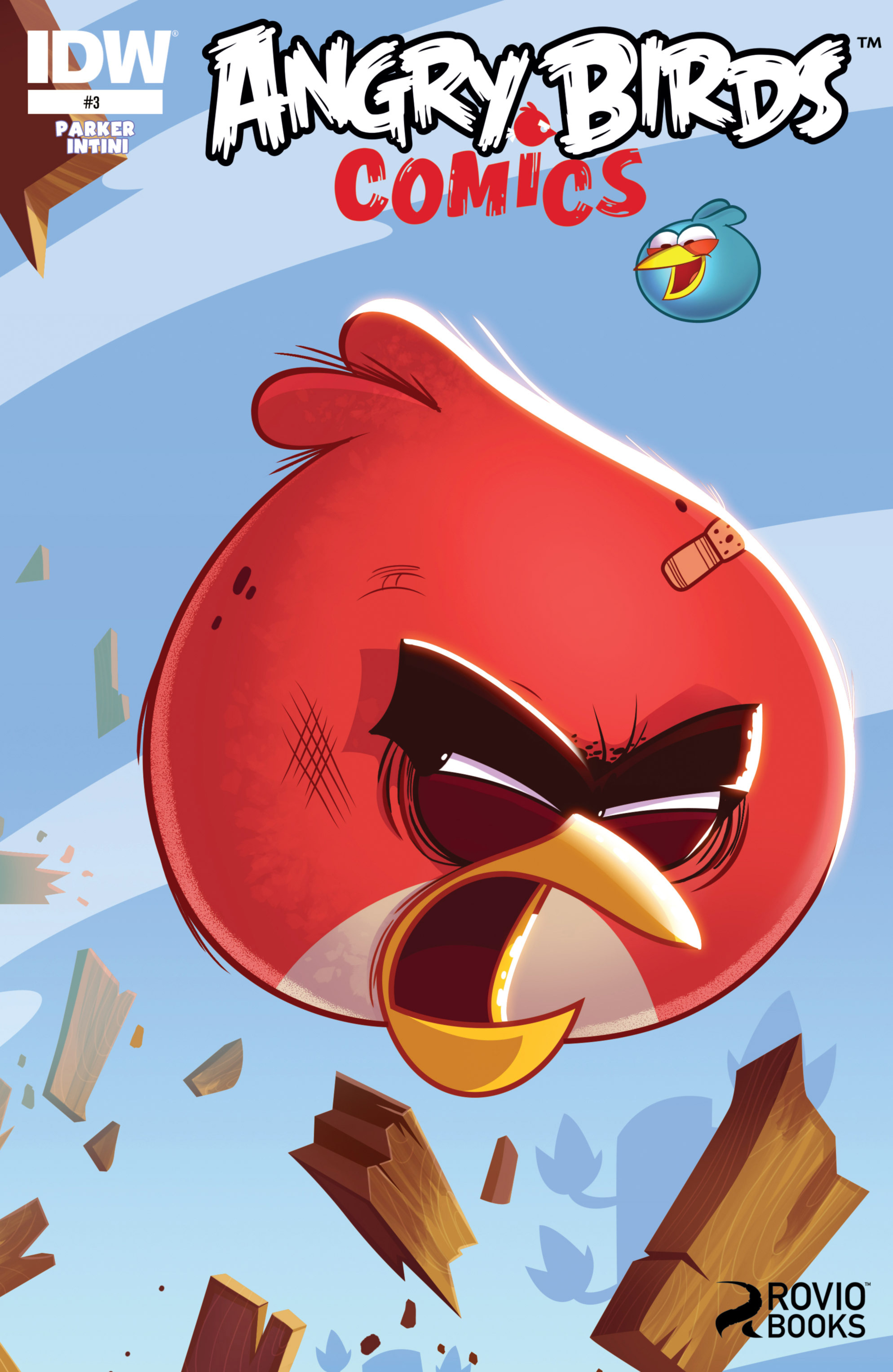 Read online Angry Birds Comics (2014) comic -  Issue #3 - 2