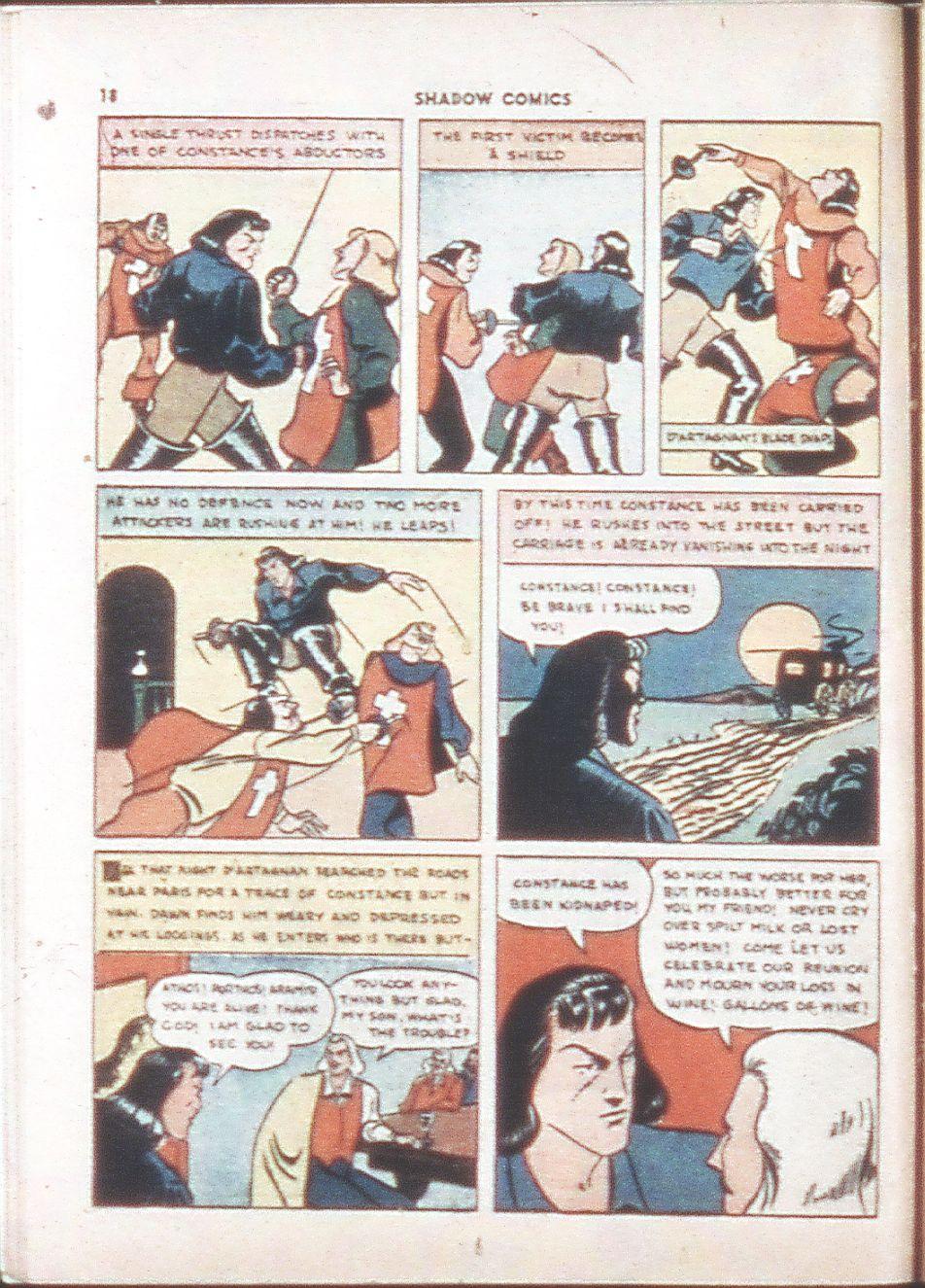 Read online Shadow Comics comic -  Issue #6 - 20