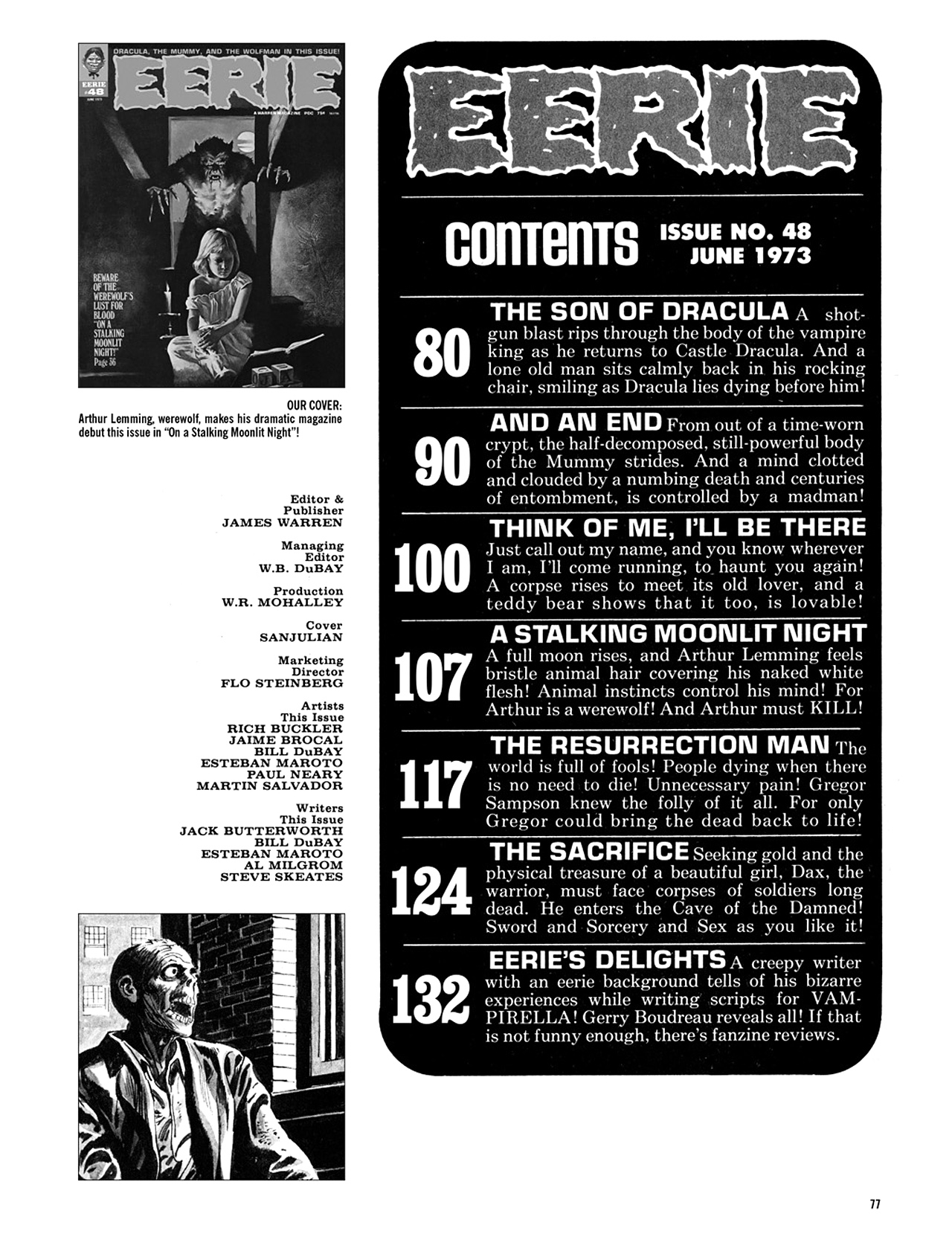 Read online Eerie Archives comic -  Issue # TPB 10 - 78