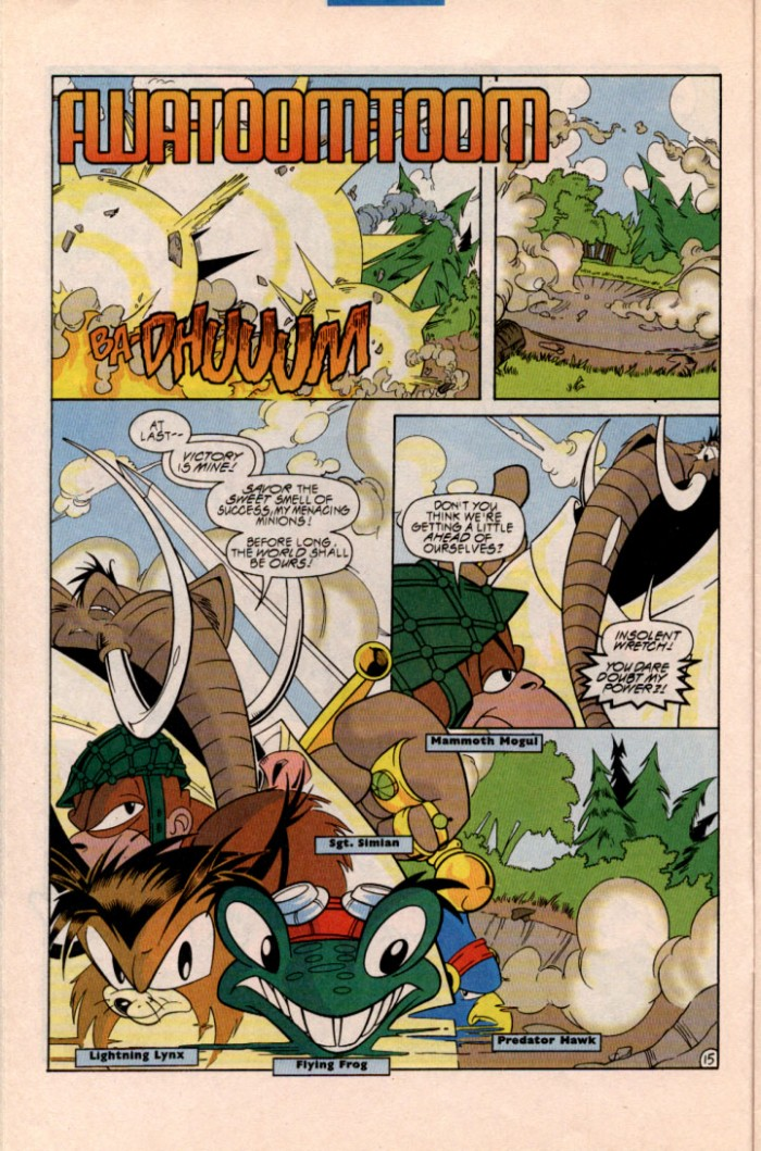 Read online Sonic Super Special comic -  Issue #1 - Sonic Vs. Knuckles Battle Royal - 17