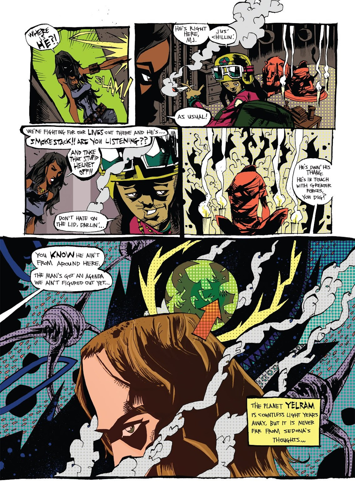 Read online Marijuanaman comic -  Issue # Full - 9