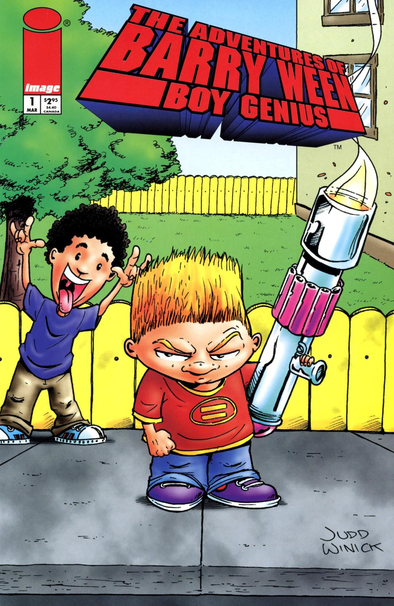 The Adventures of Barry Ween, Boy Genius 1 Page 1