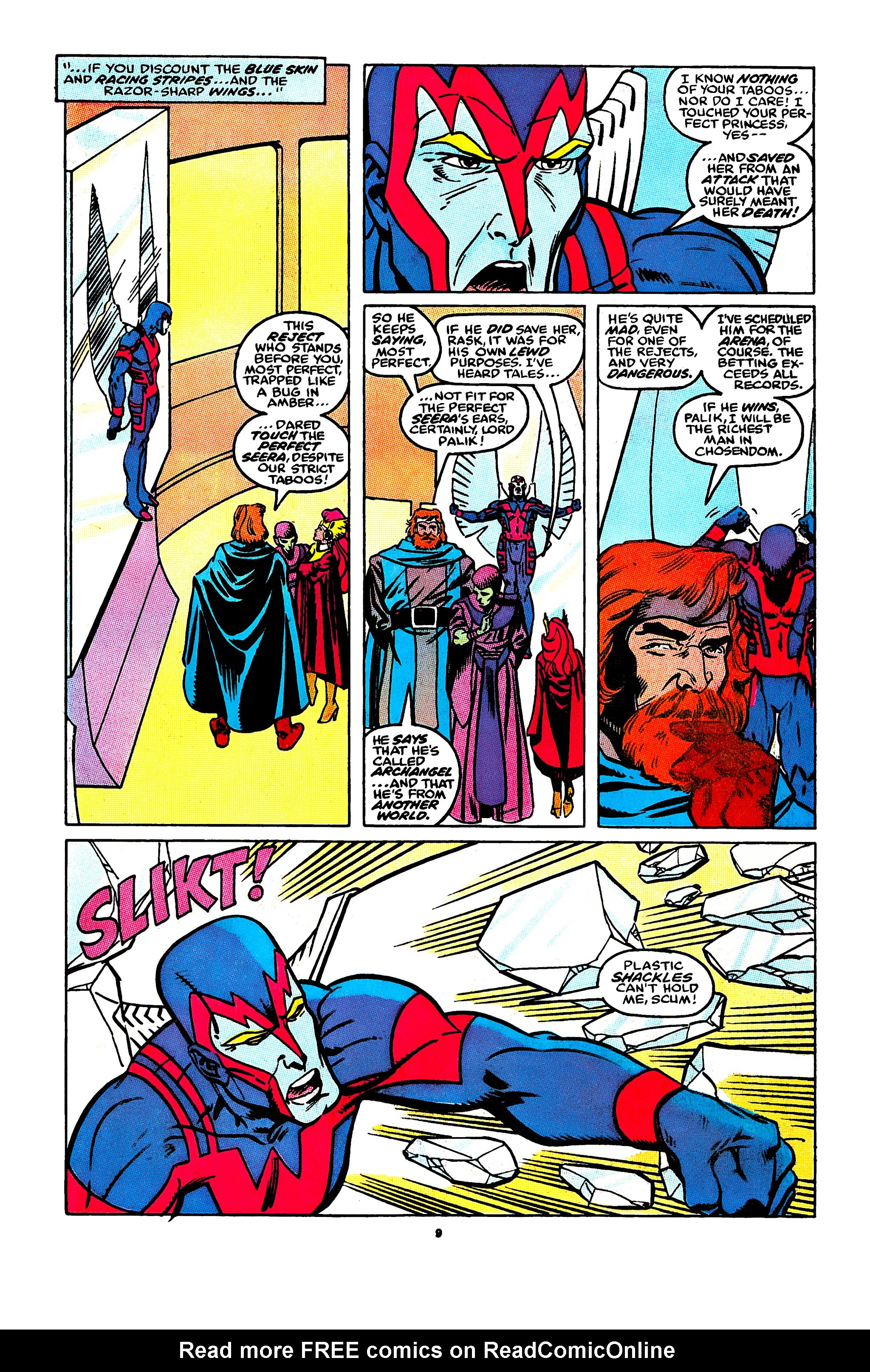 Read online X-Factor (1986) comic -  Issue #44 - 8