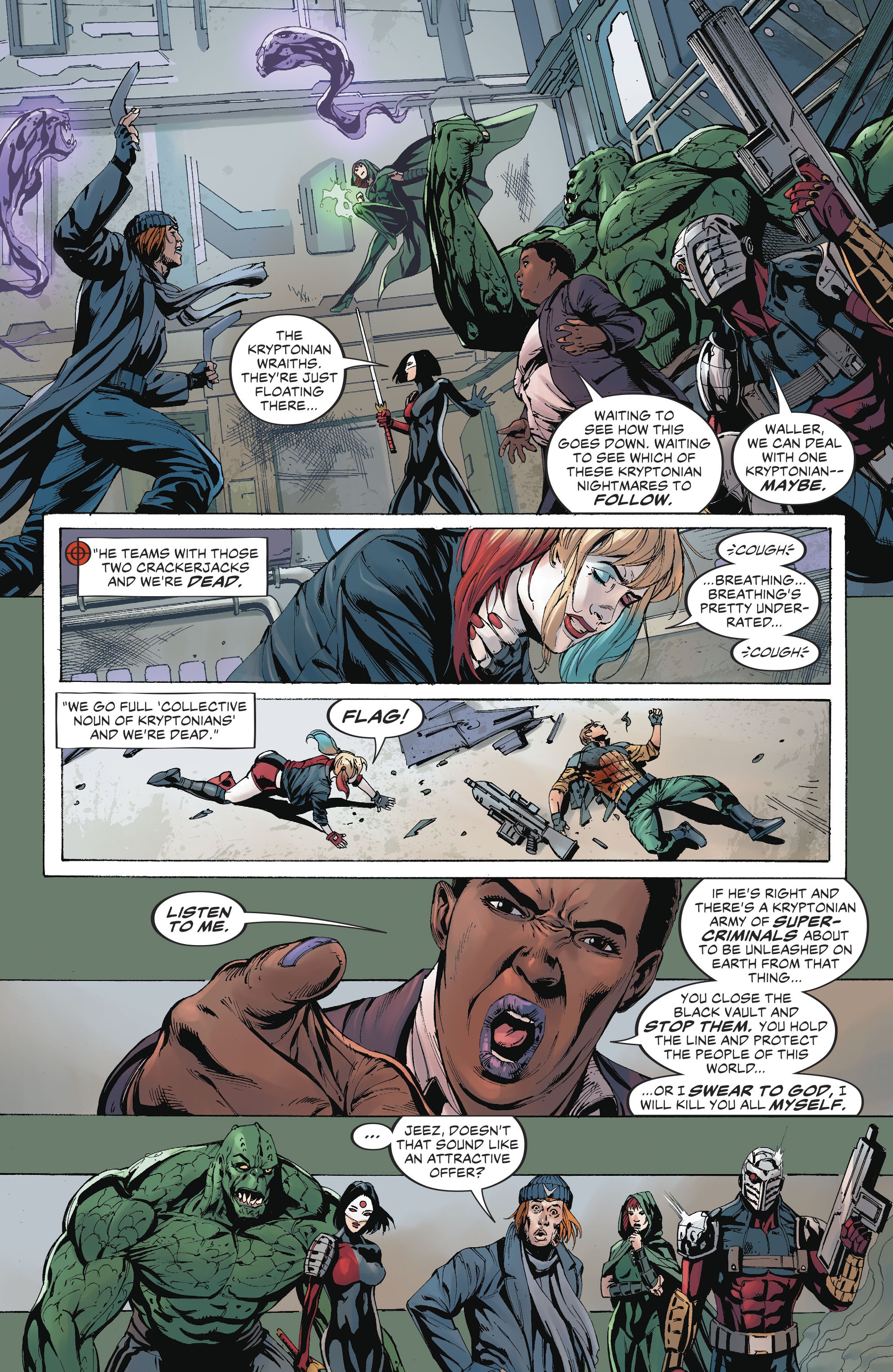 Read online Suicide Squad (2016) comic -  Issue #19 - 8