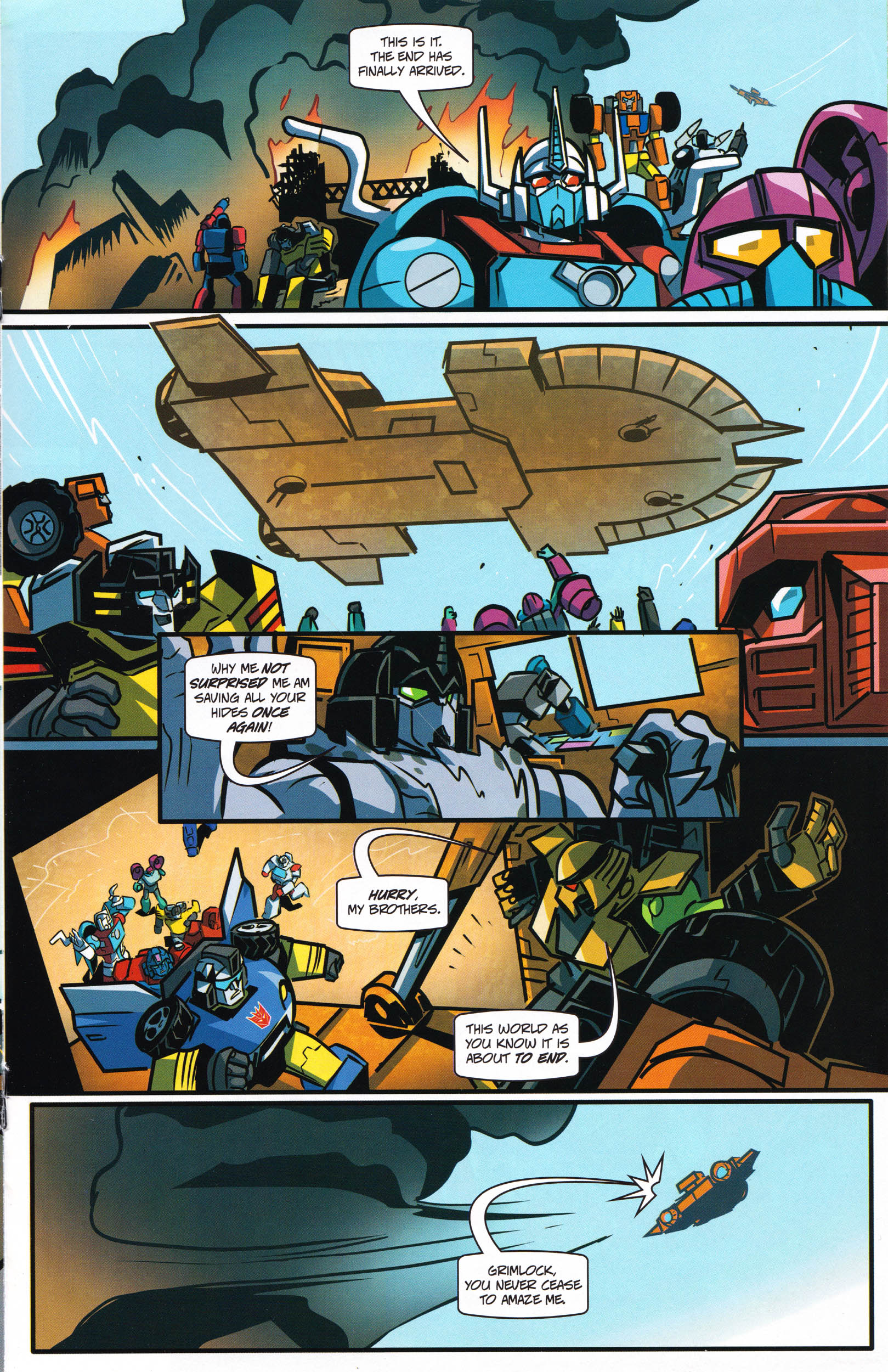 Read online Transformers: Collectors' Club comic -  Issue #66 - 9