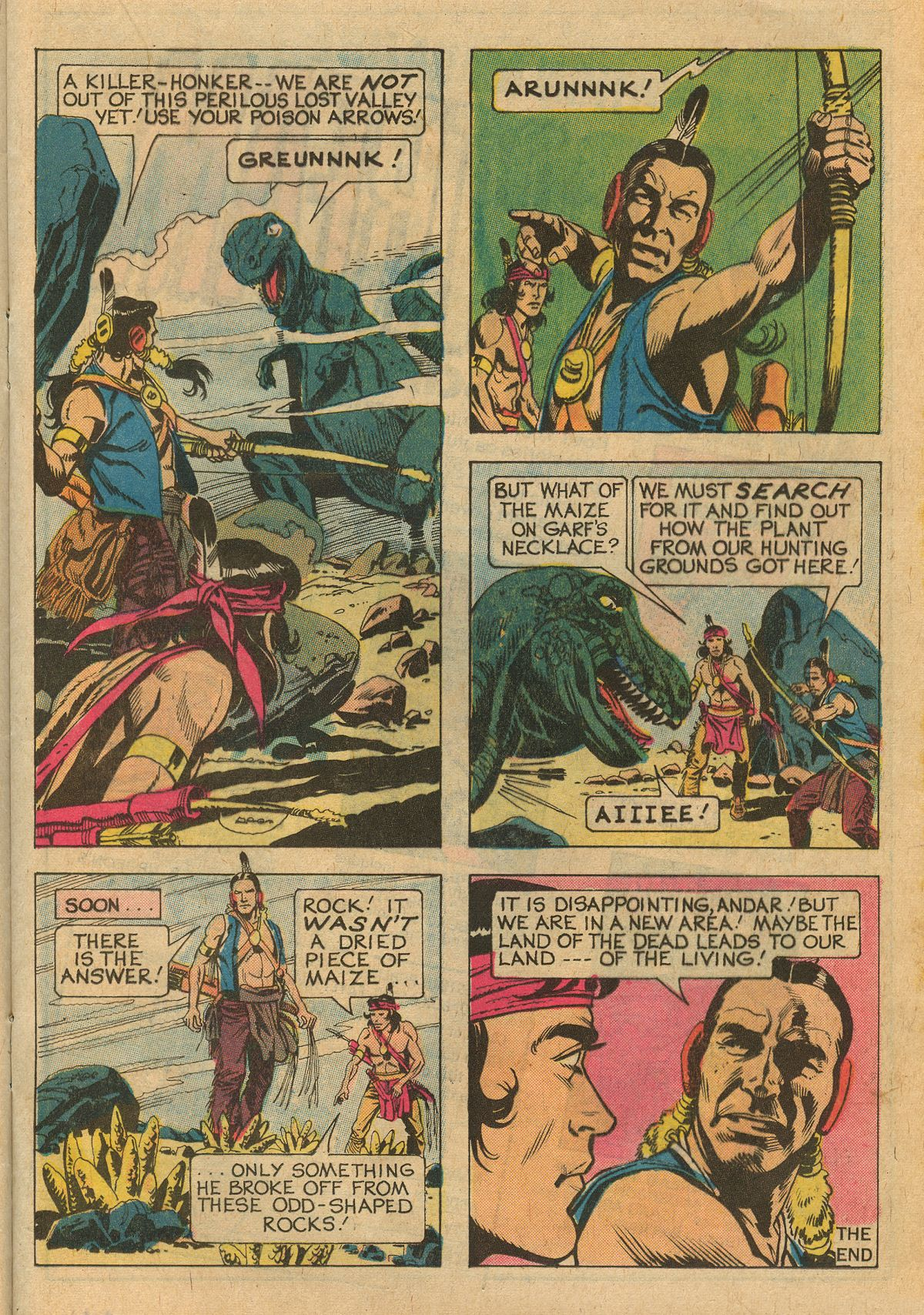 Read online Turok, Son of Stone comic -  Issue #111 - 17