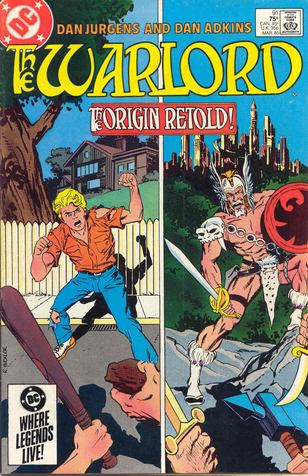 Warlord (1976) issue 91 - Page 1