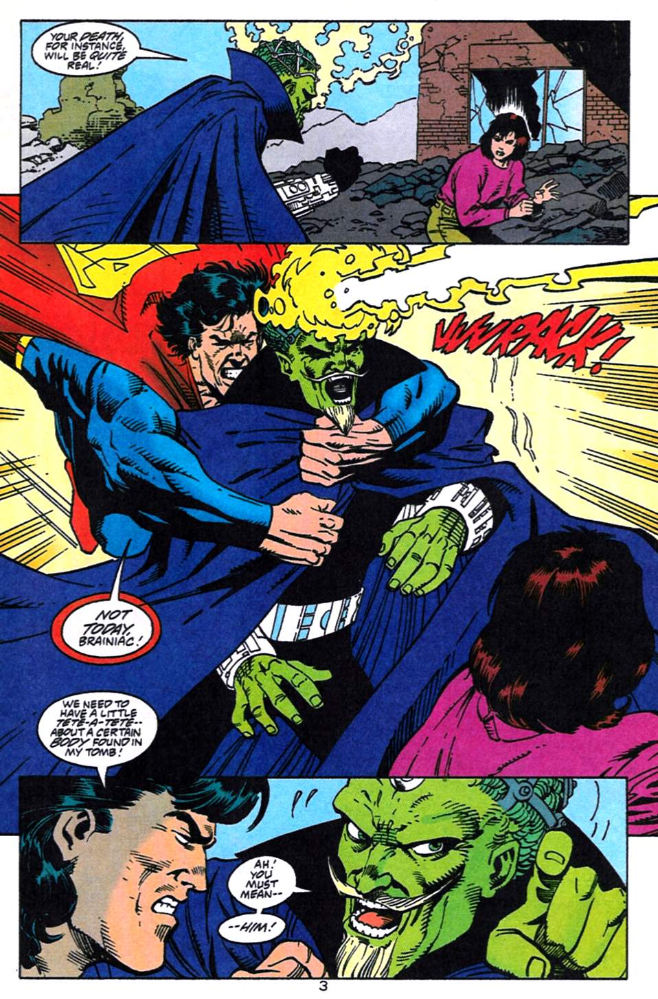 Read online Adventures of Superman (1987) comic -  Issue #519 - 4