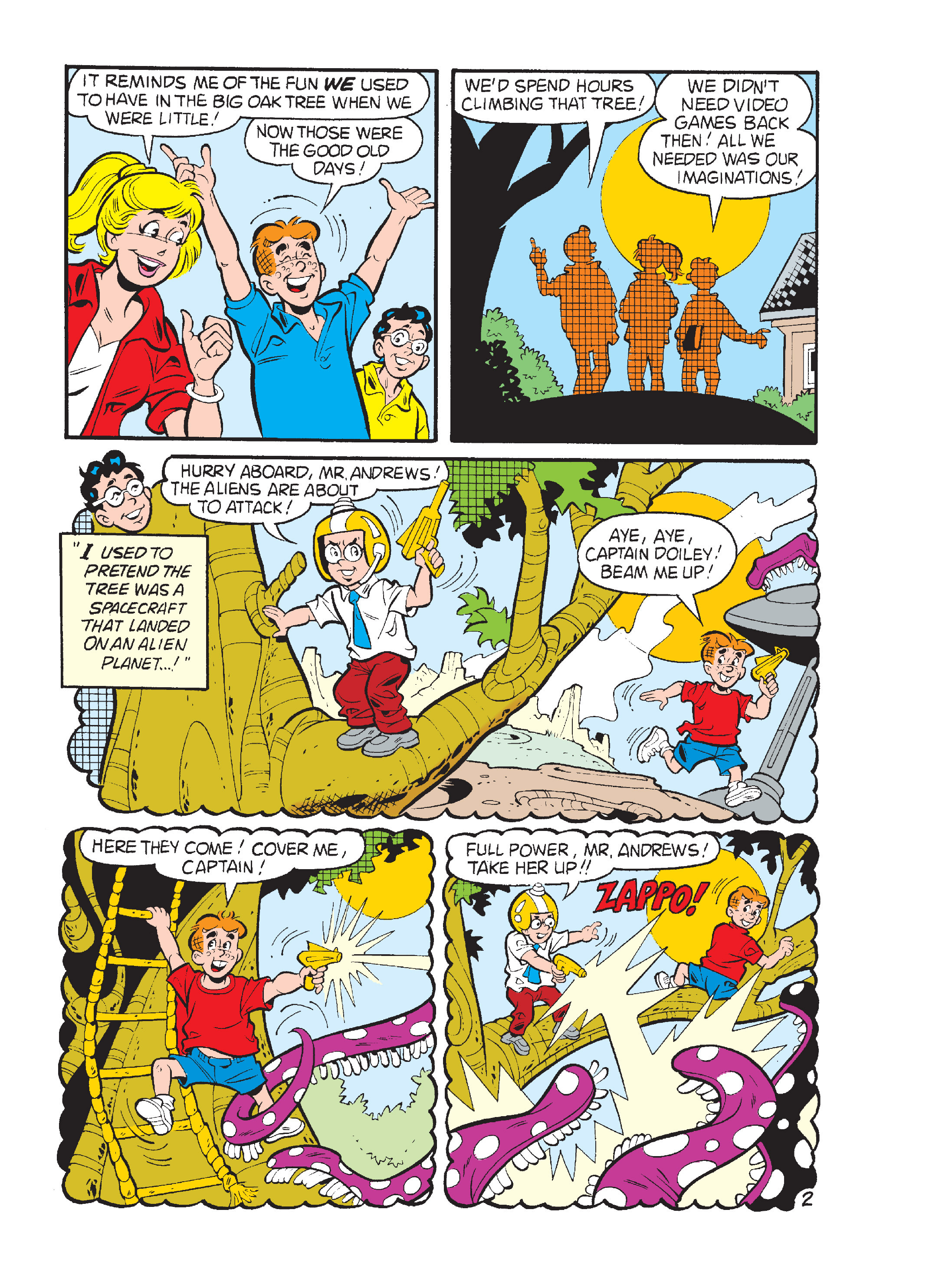 Read online Archie's Funhouse Double Digest comic -  Issue #15 - 235