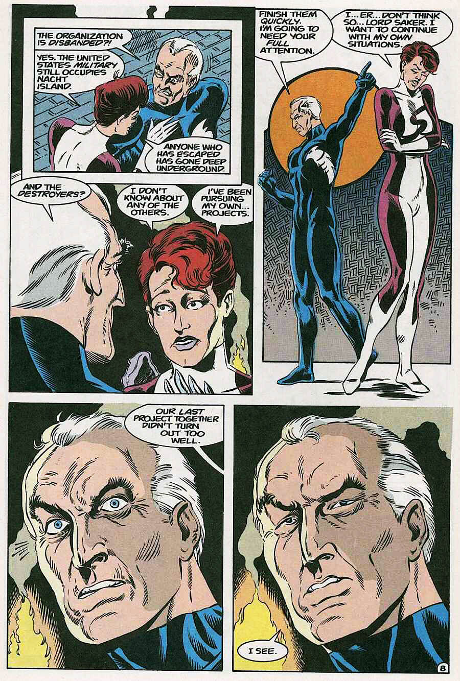 Elementals (1984) issue 18 - Page 10