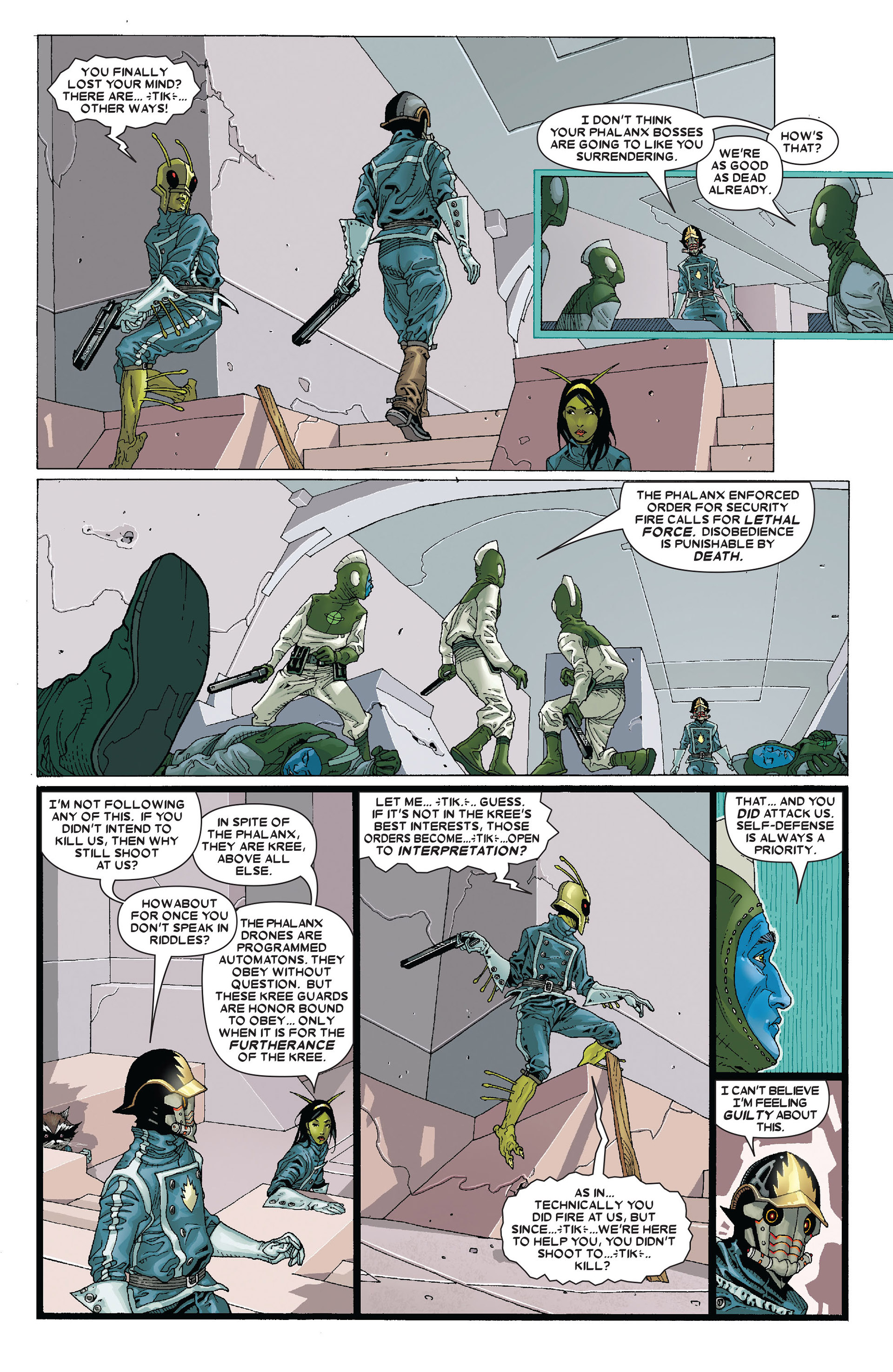 Read online Annihilation: Conquest - Starlord comic -  Issue #4 - 12