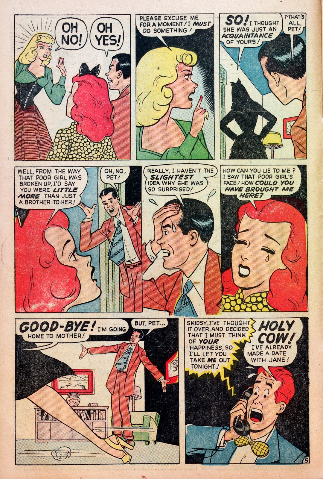 Read online Comedy Comics (1948) comic -  Issue #6 - 14