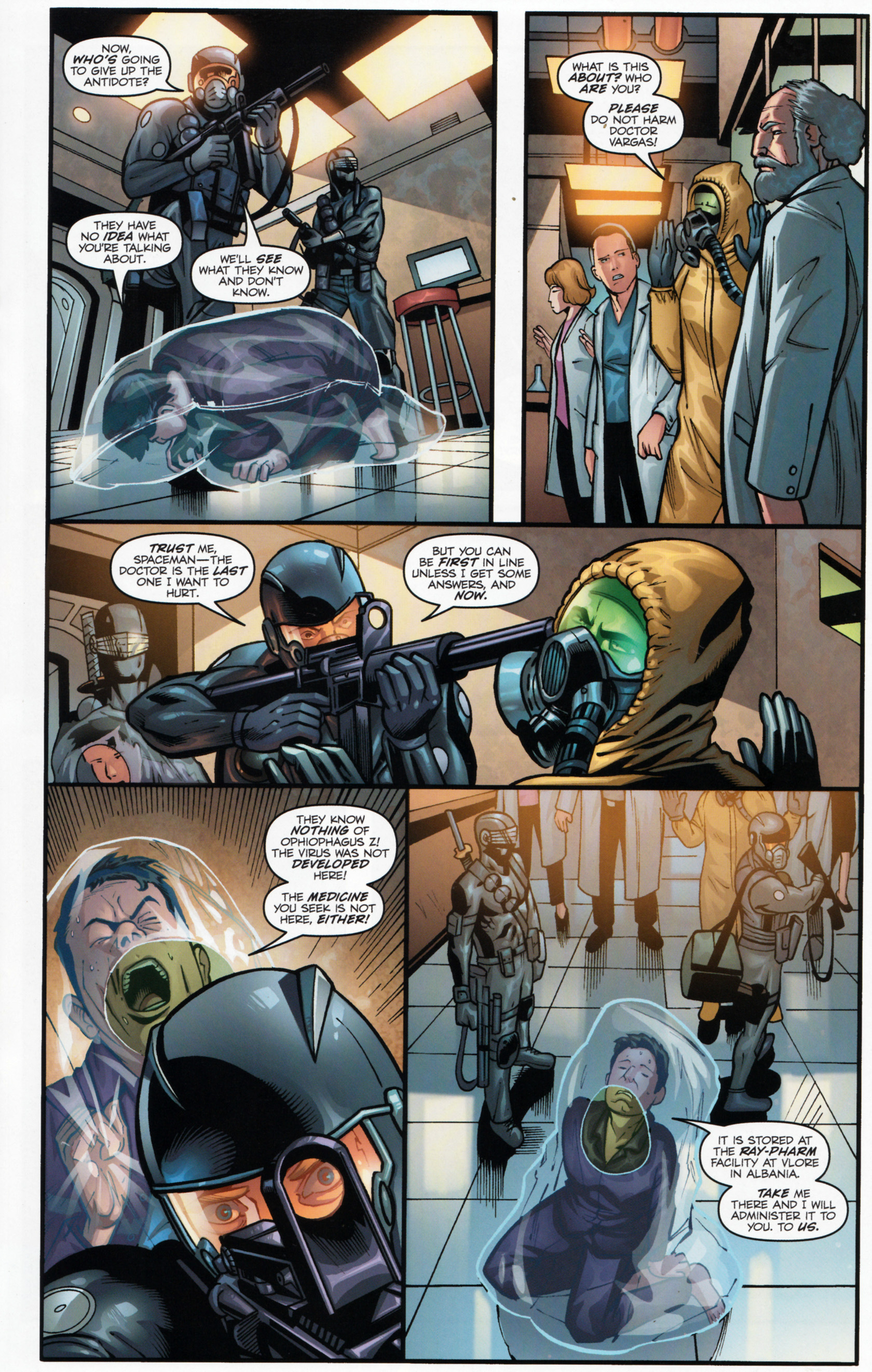 Read online G.I. Joe: Snake Eyes comic -  Issue #6 - 16