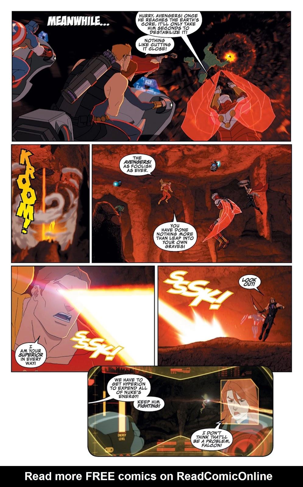 Read online Marvel Universe Avengers Assemble Season 2 comic -  Issue #14 - 22