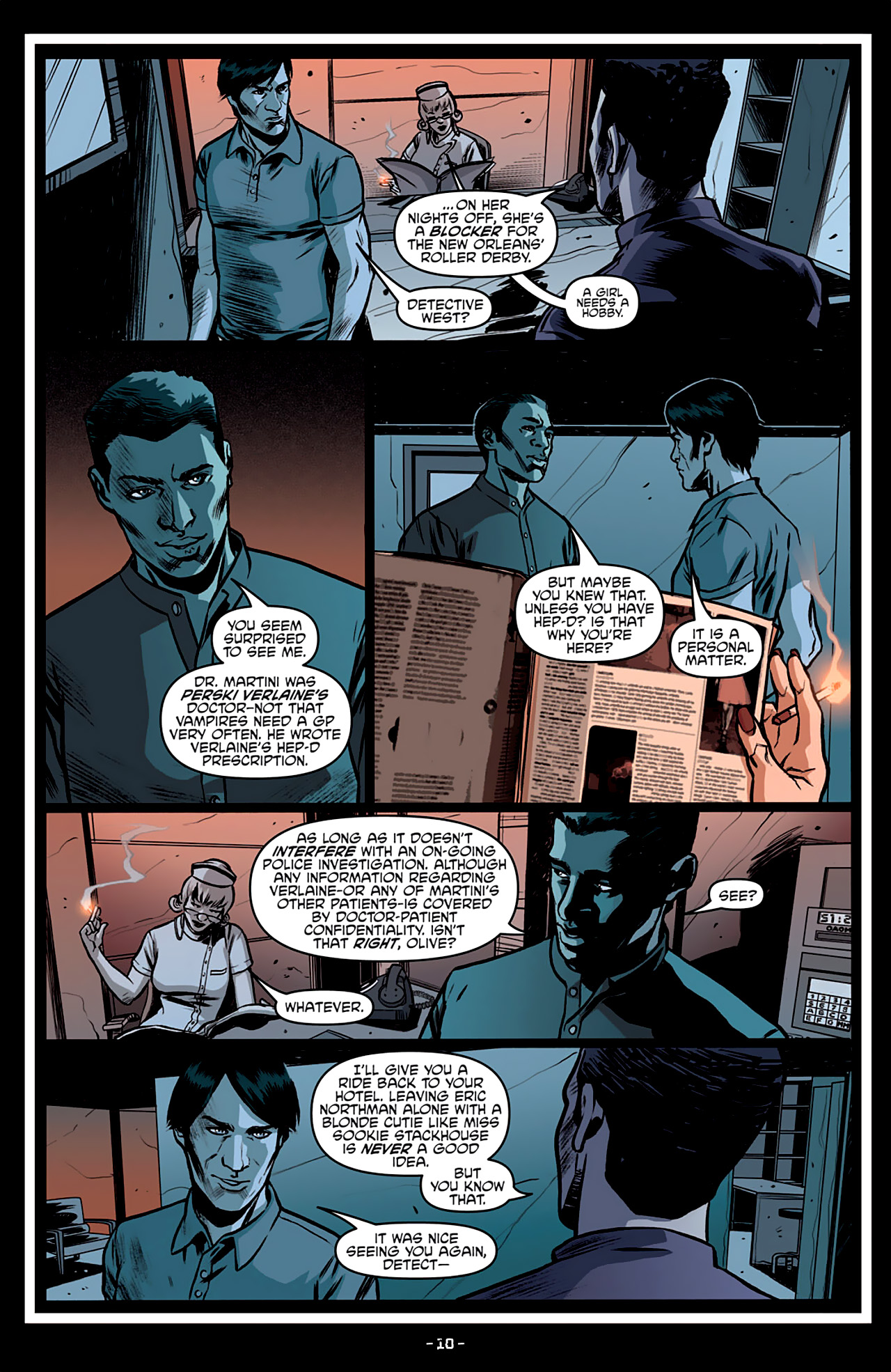 Read online True Blood: French Quarter comic -  Issue #3 - 15
