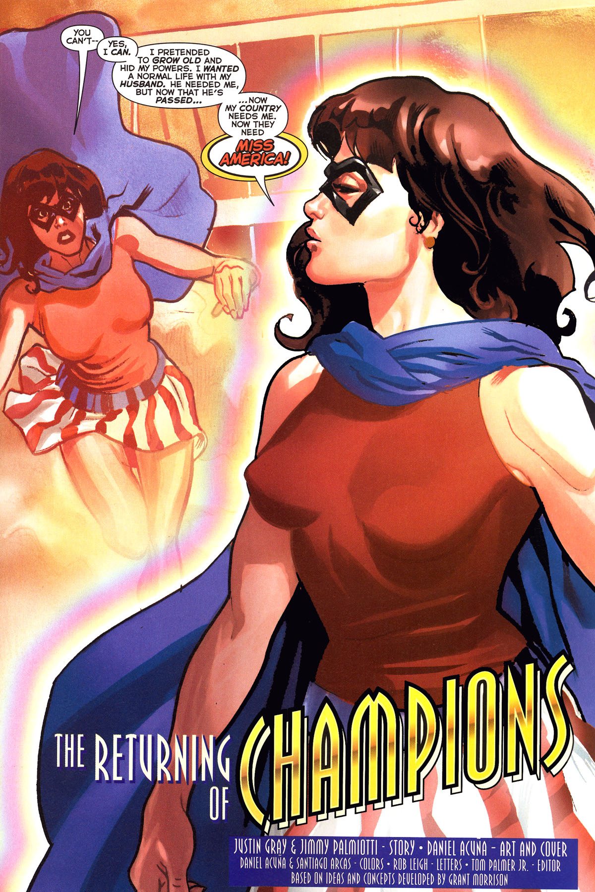 Read online Uncle Sam and the Freedom Fighters (2006) comic -  Issue #6 - 5