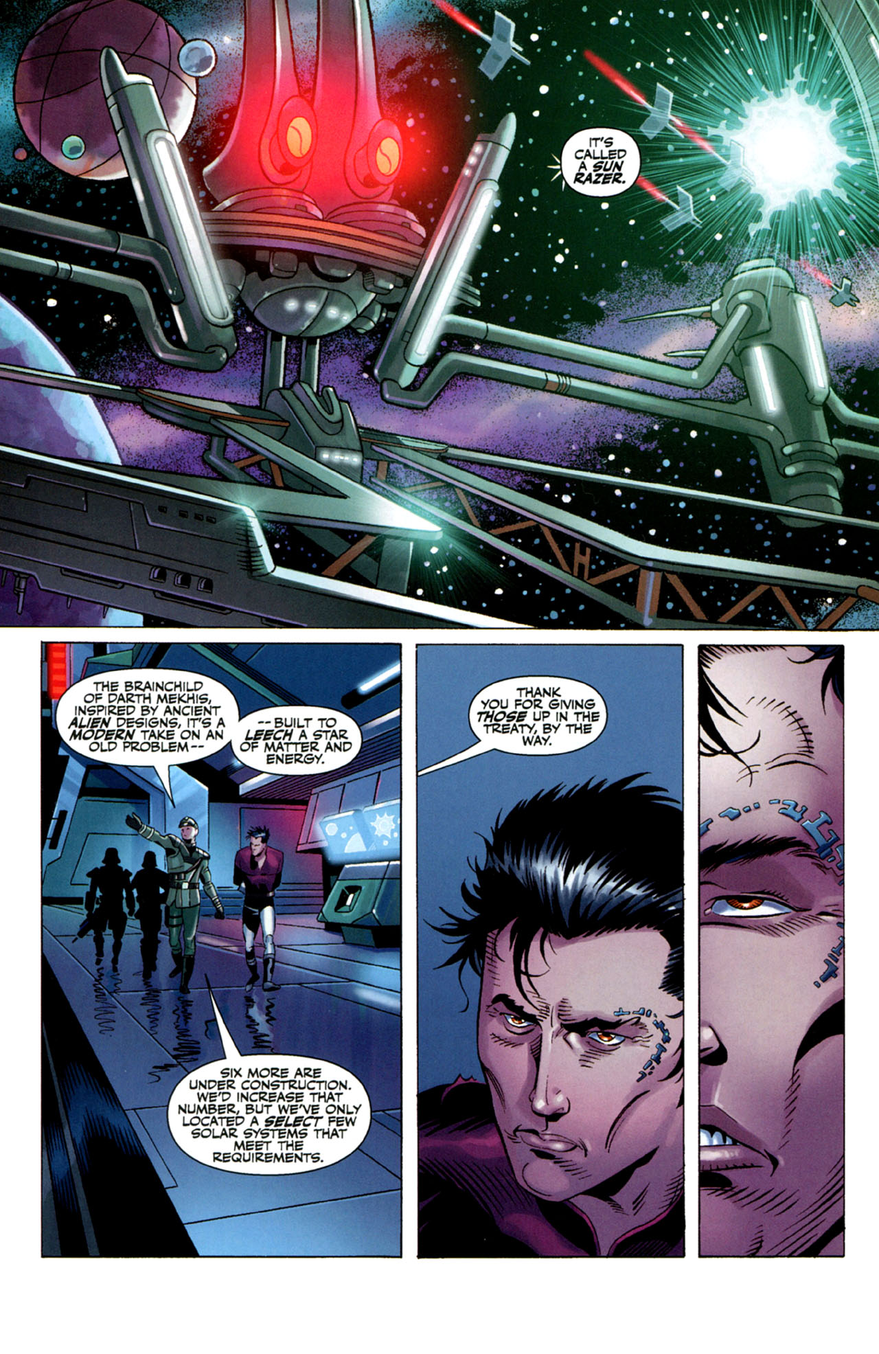 Read online Star Wars: The Old Republic - The Lost Suns comic -  Issue #4 - 6