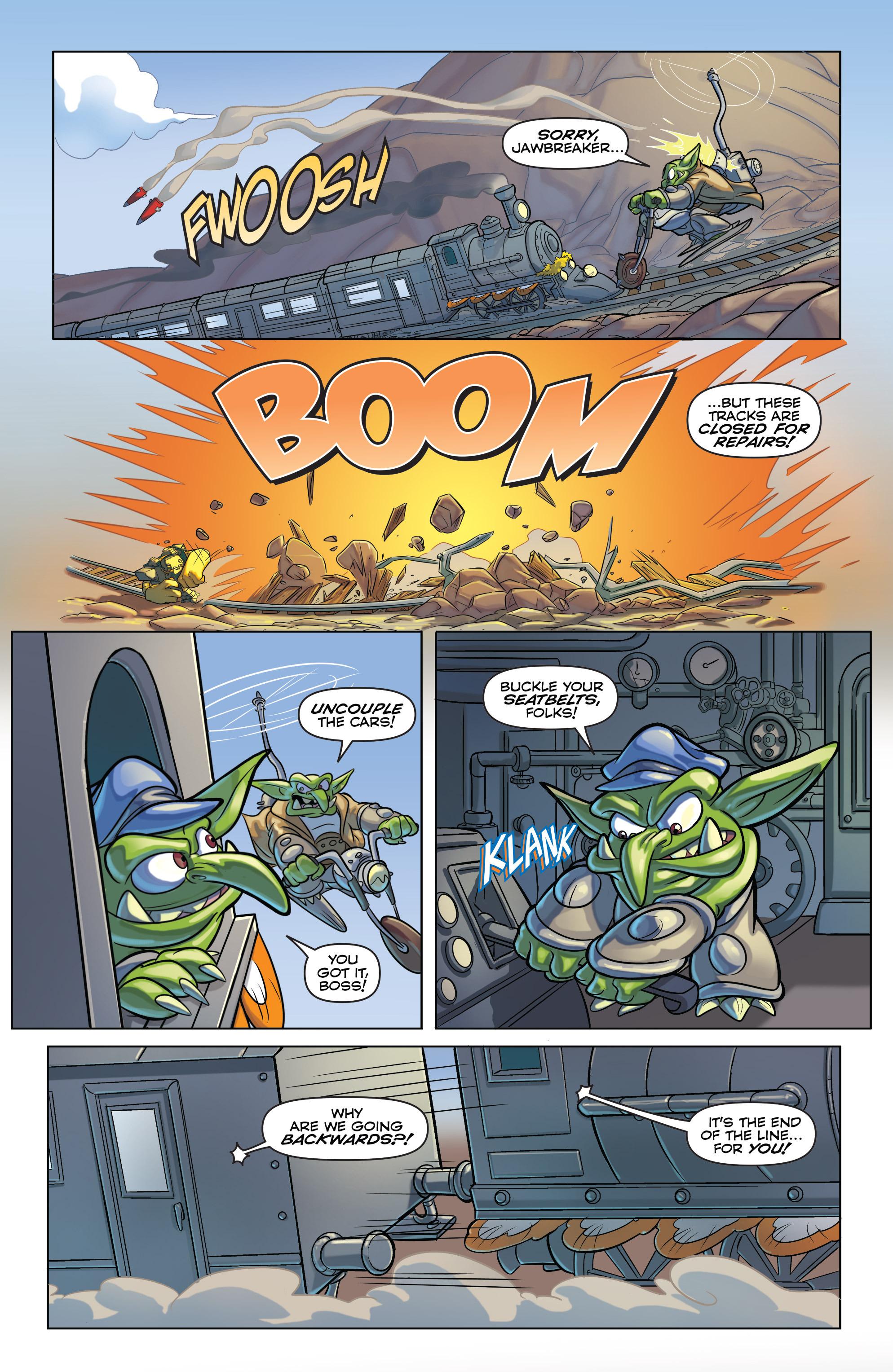 Read online Skylanders comic -  Issue #6 - 12