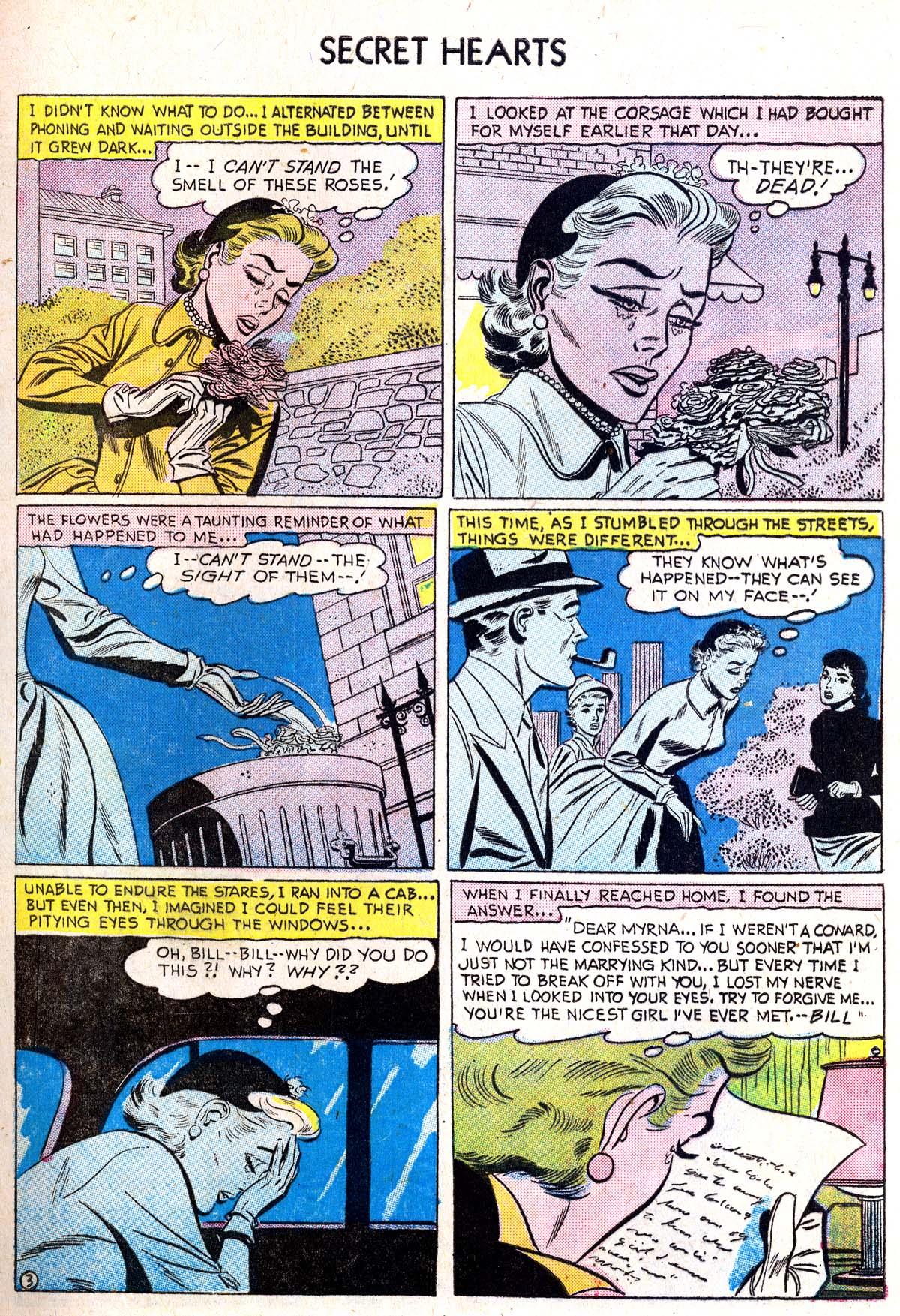 Read online Secret Hearts comic -  Issue #38 - 29