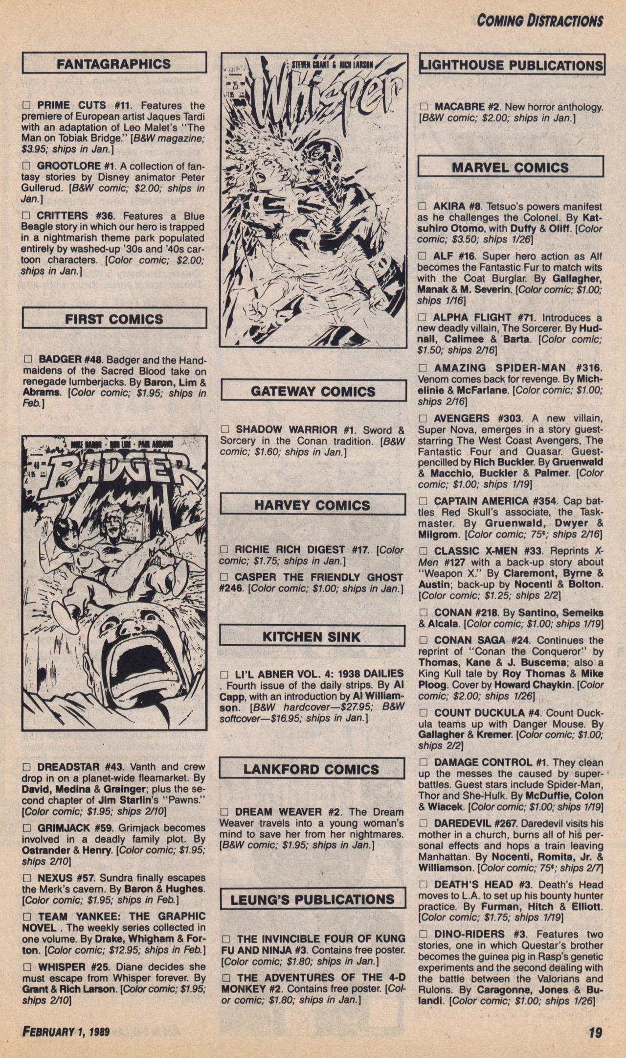 Read online Amazing Heroes comic -  Issue #158 - 20