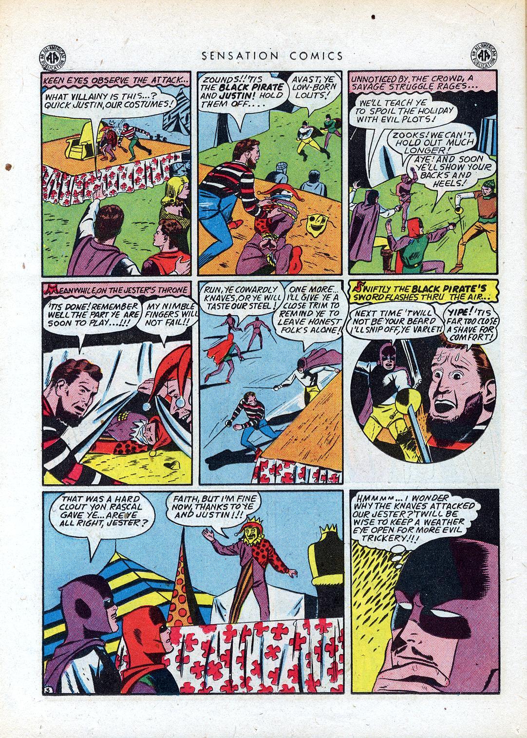 Read online Sensation (Mystery) Comics comic -  Issue #41 - 36