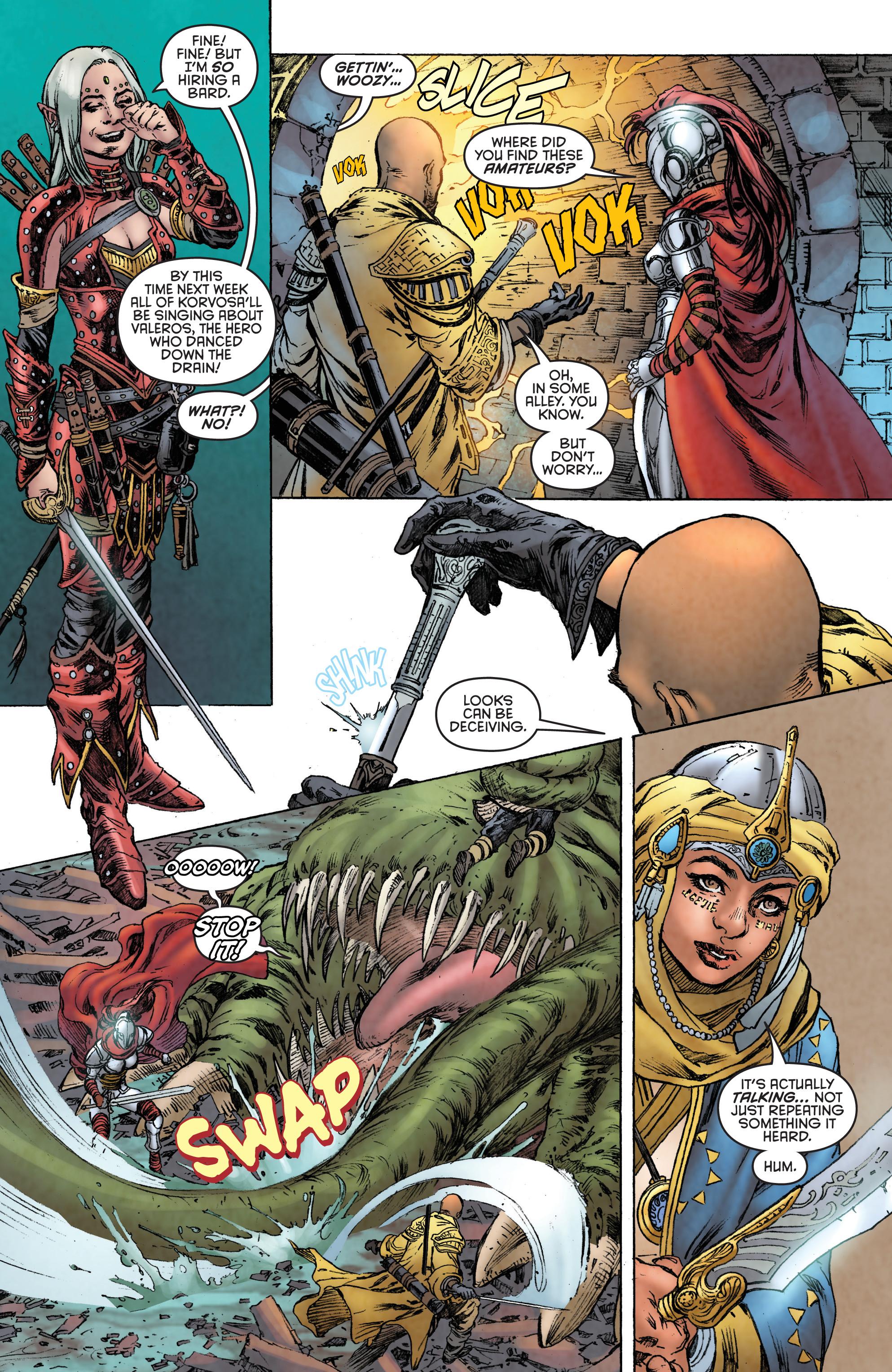 Read online Pathfinder: Runescars comic -  Issue #1 - 19