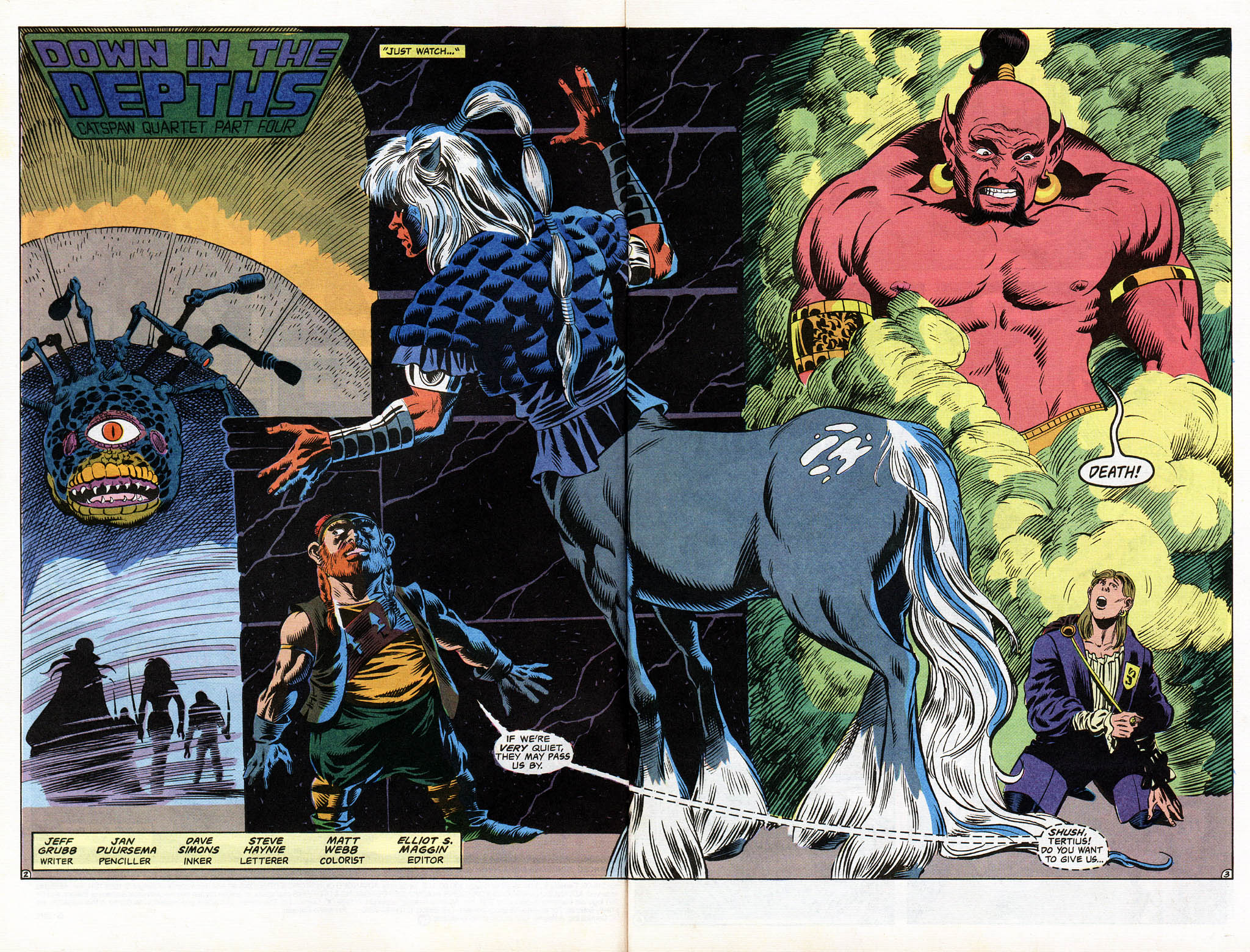 Read online Advanced Dungeons & Dragons comic -  Issue #12 - 4