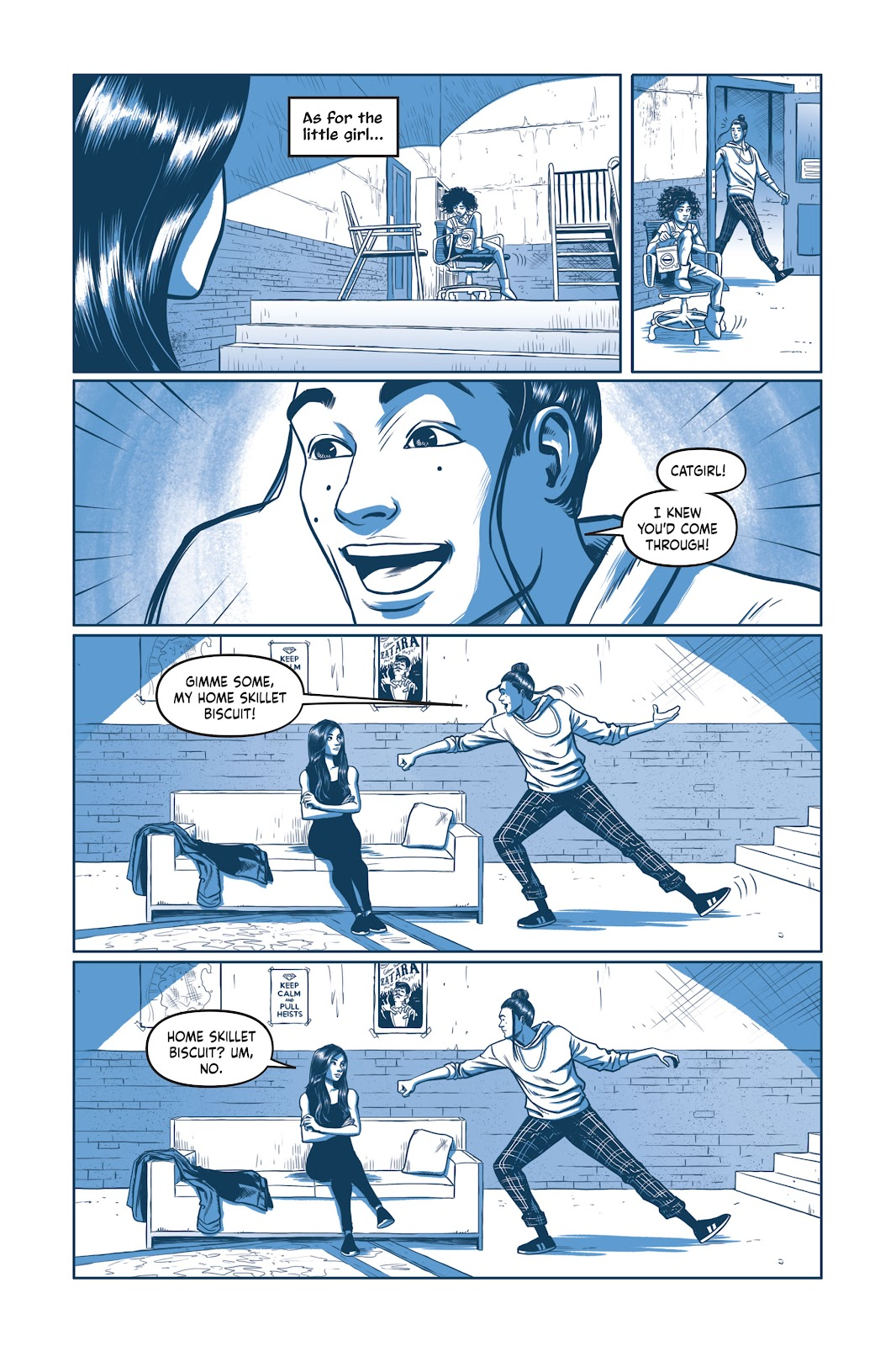 Read online Under the Moon: A Catwoman Tale comic -  Issue # TPB (Part 2) - 13