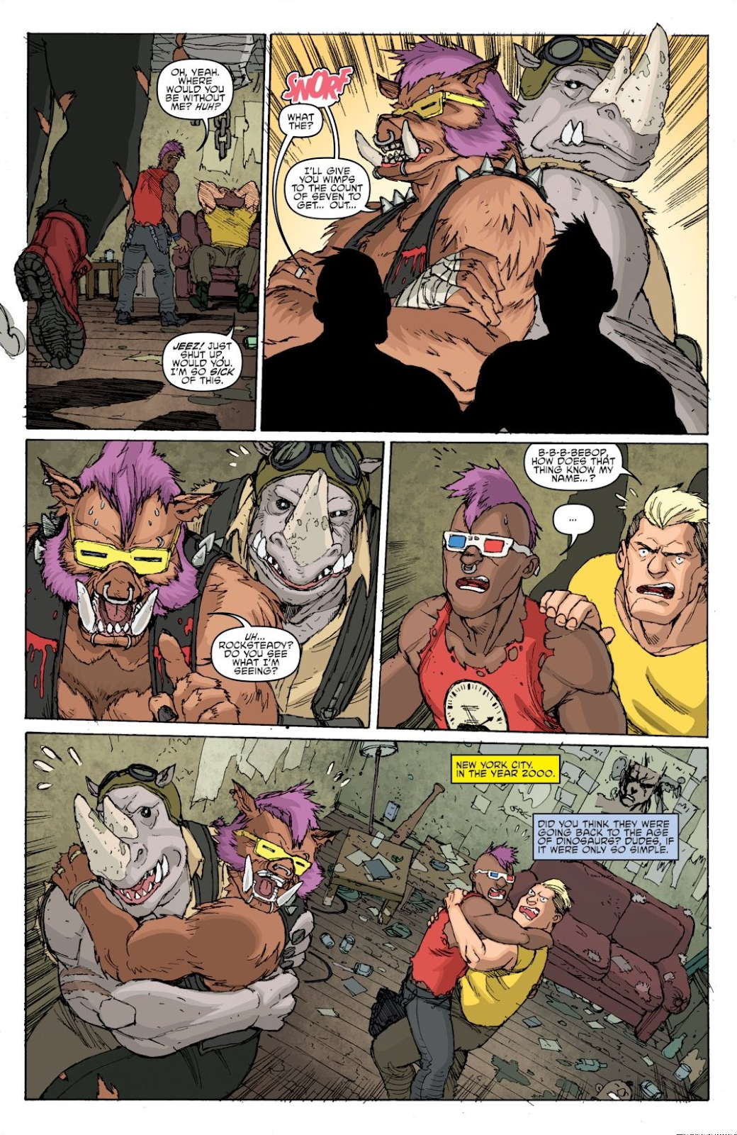 Read online Teenage Mutant Ninja Turtles: The IDW Collection comic -  Issue # TPB 8 (Part 1) - 26