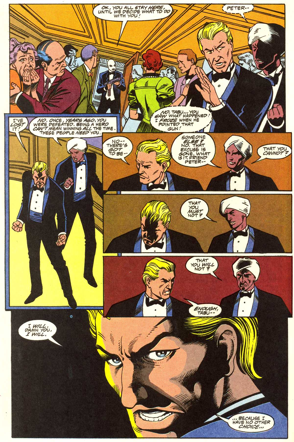 Read online Peter Cannon--Thunderbolt (1992) comic -  Issue #1 - 21