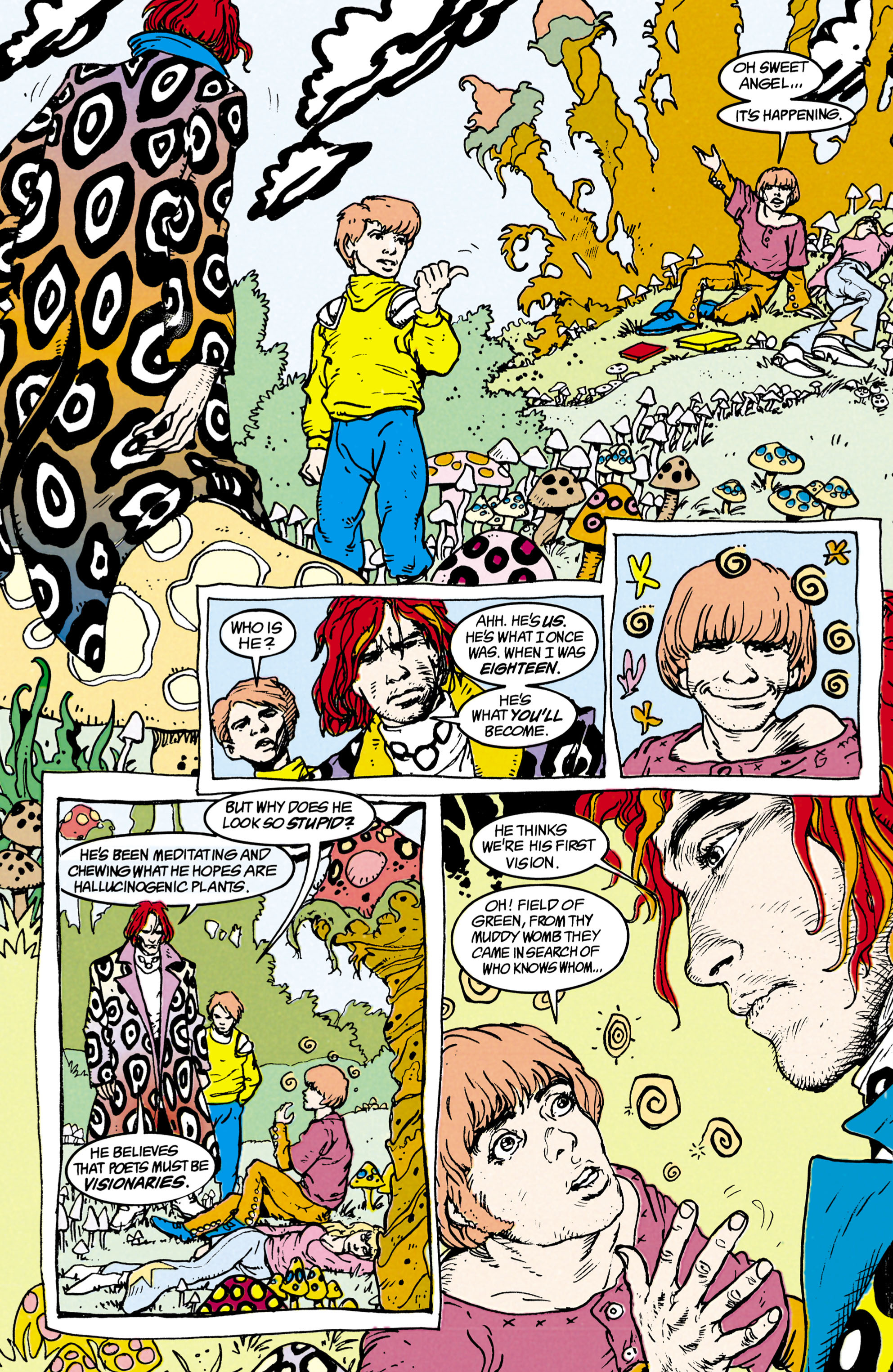 Read online Shade, the Changing Man comic -  Issue #22 - 13