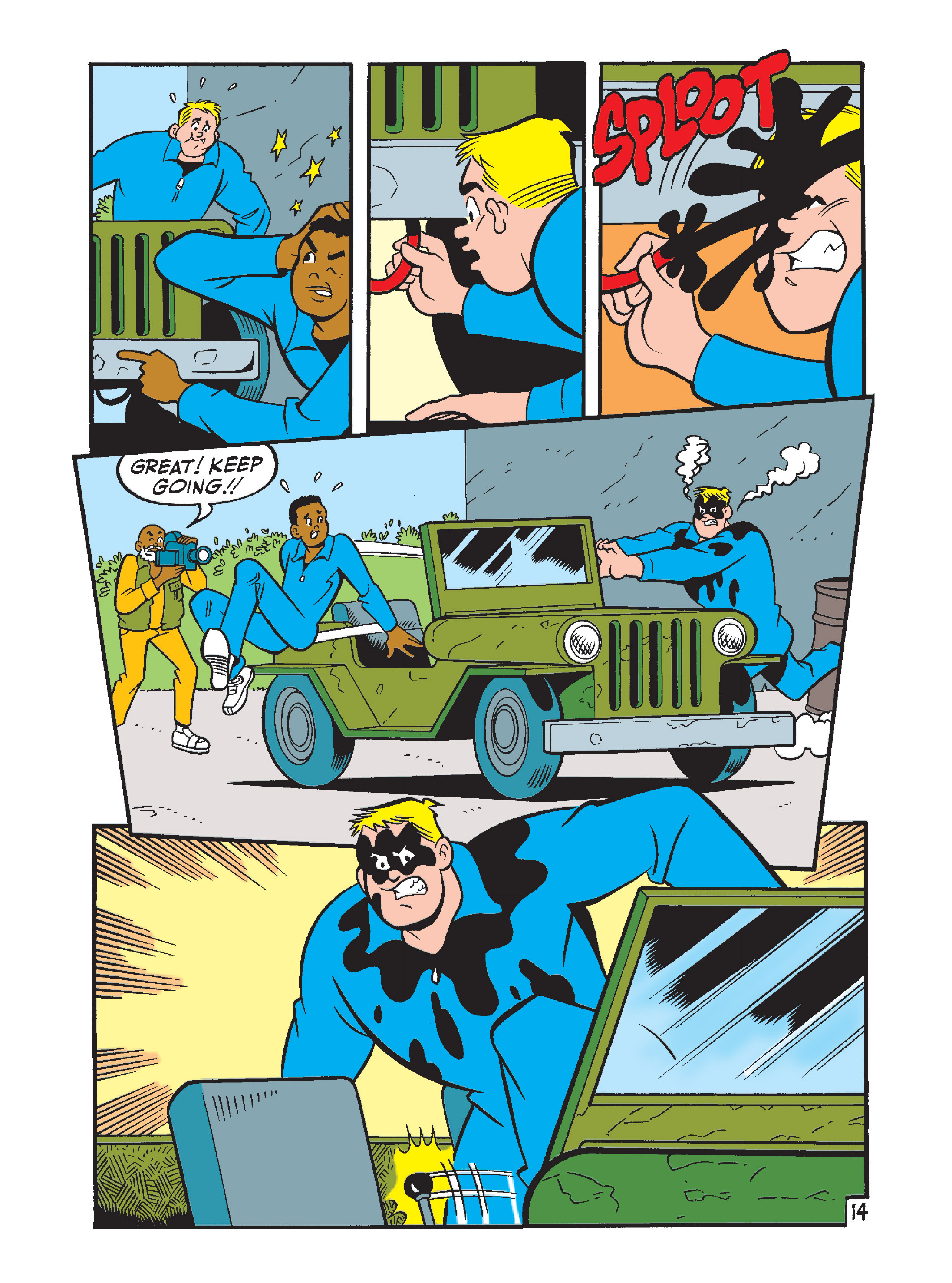 Read online Archie's Funhouse Double Digest comic -  Issue #7 - 49