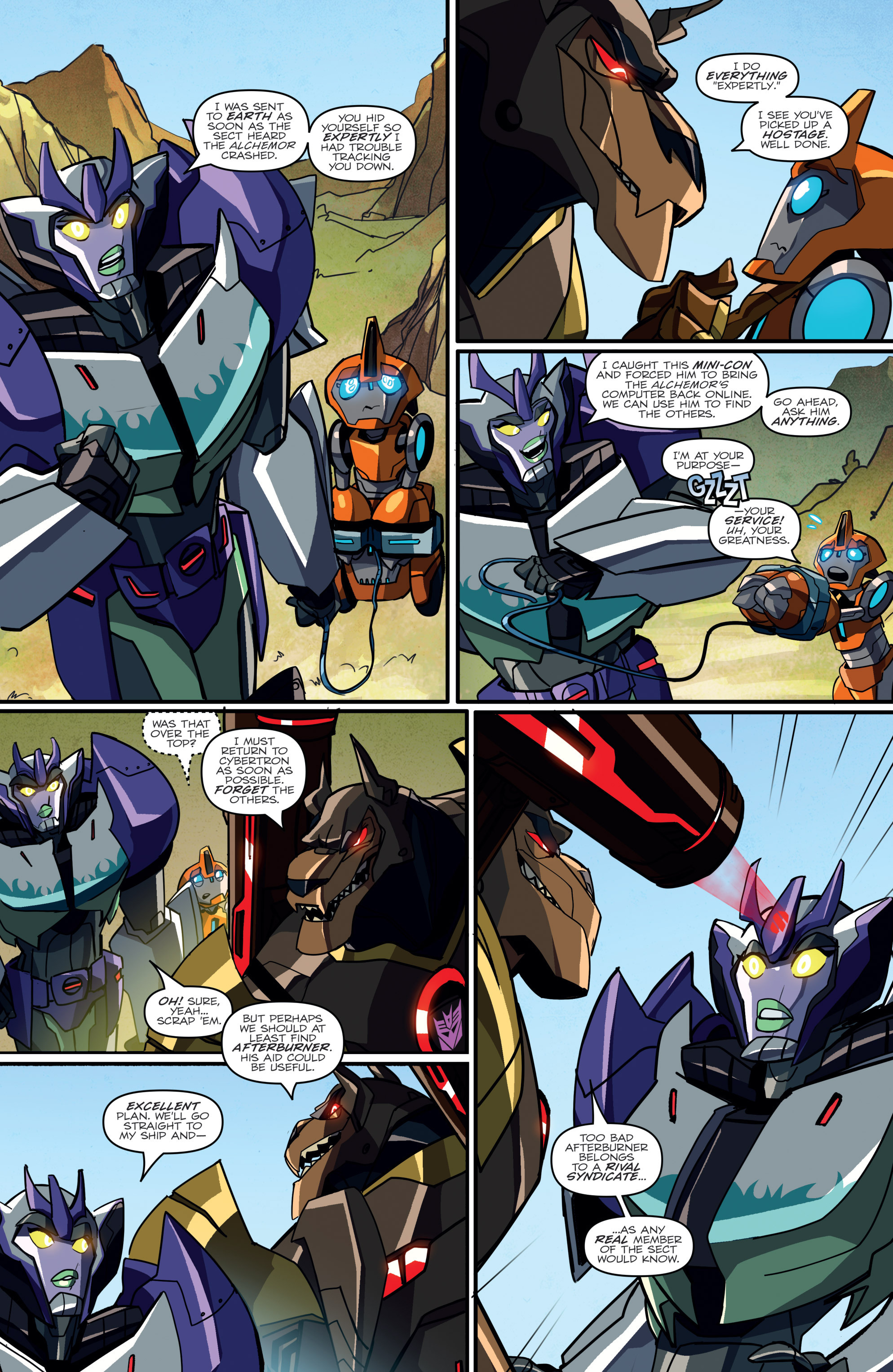 Read online Transformers: Robots In Disguise (2015) comic -  Issue #2 - 17