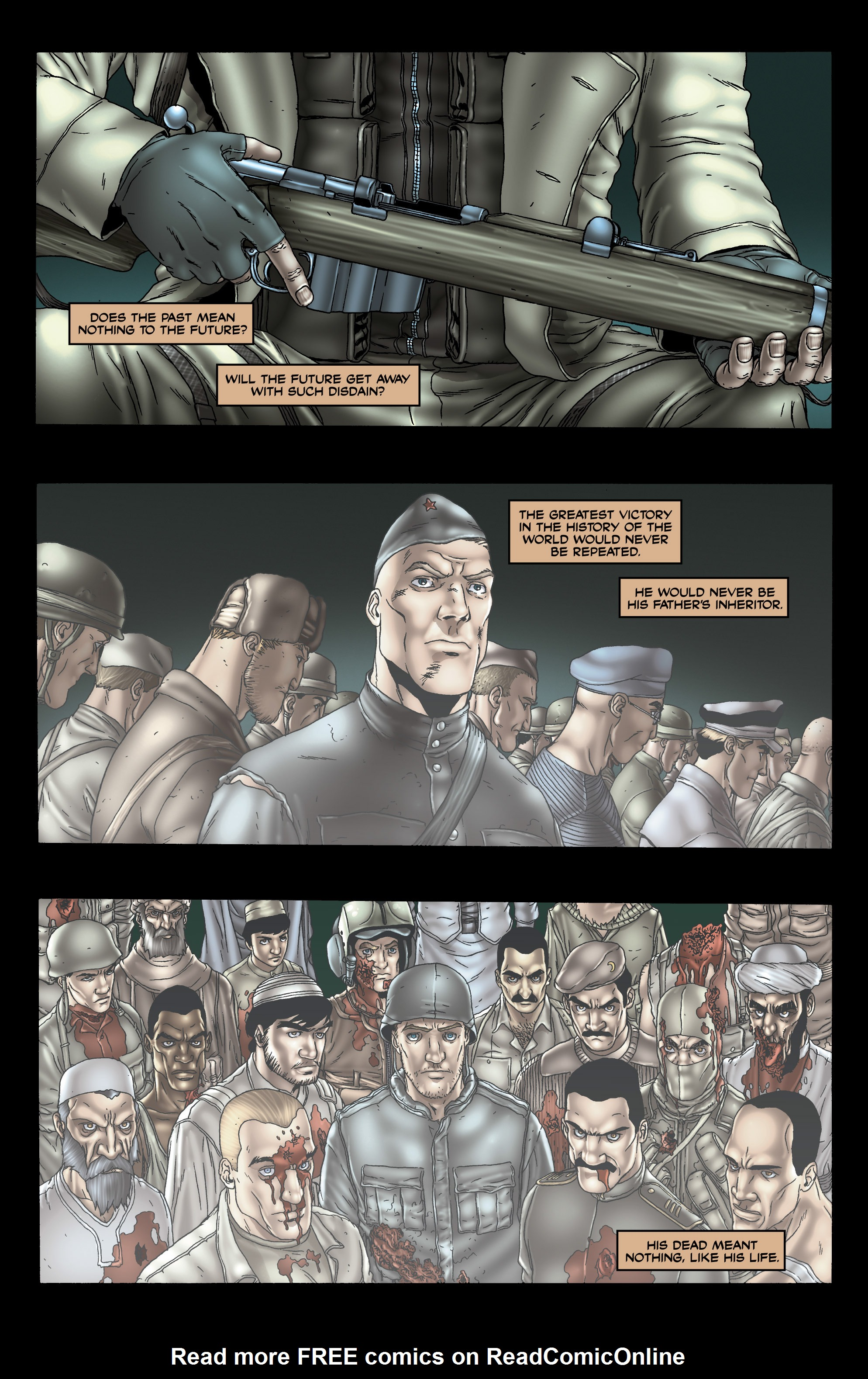 Read online 303 comic -  Issue #3 - 22