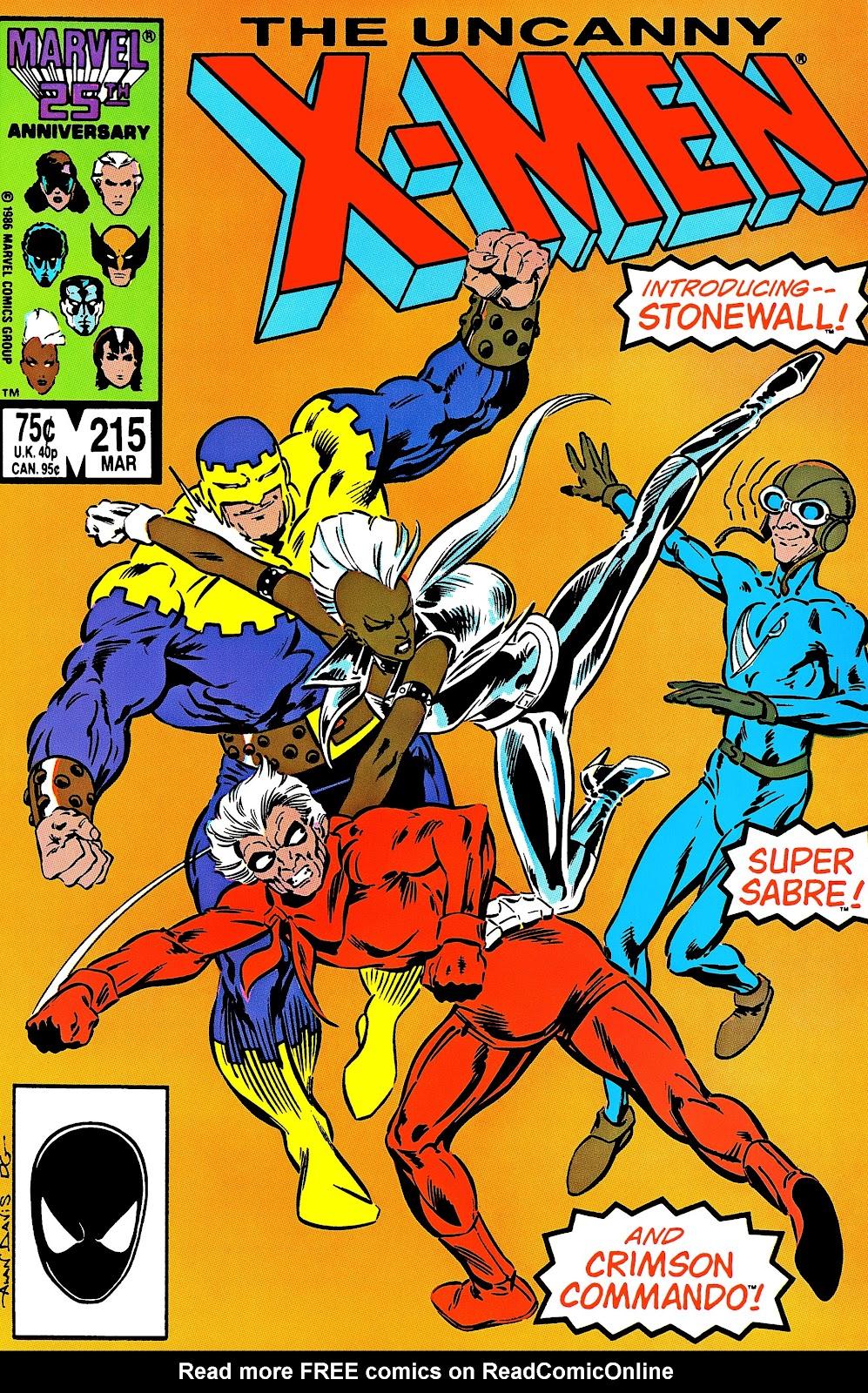 Uncanny X-Men (1963) 215 Page 1