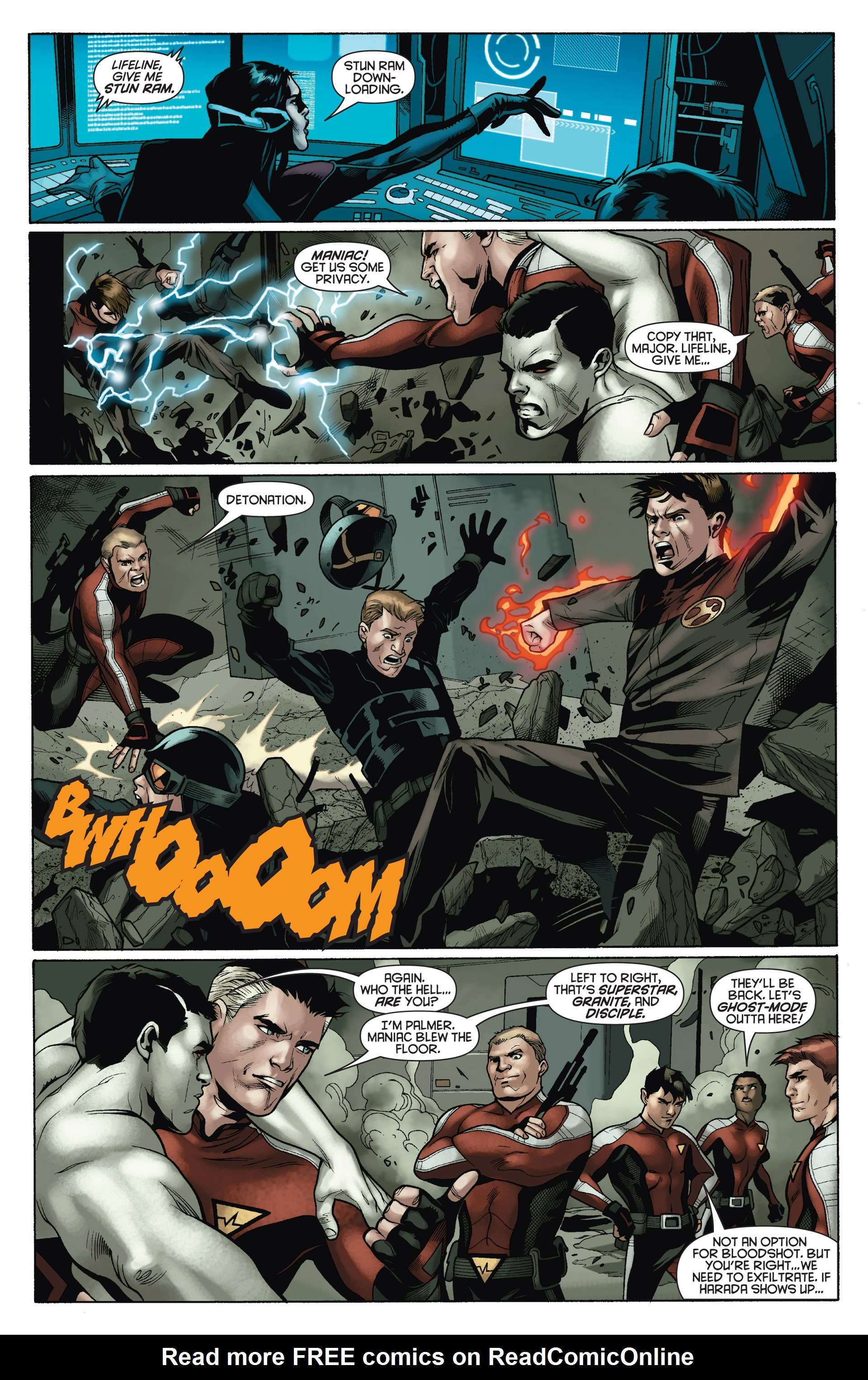 Read online Bloodshot and H.A.R.D.Corps comic -  Issue #15 - 5