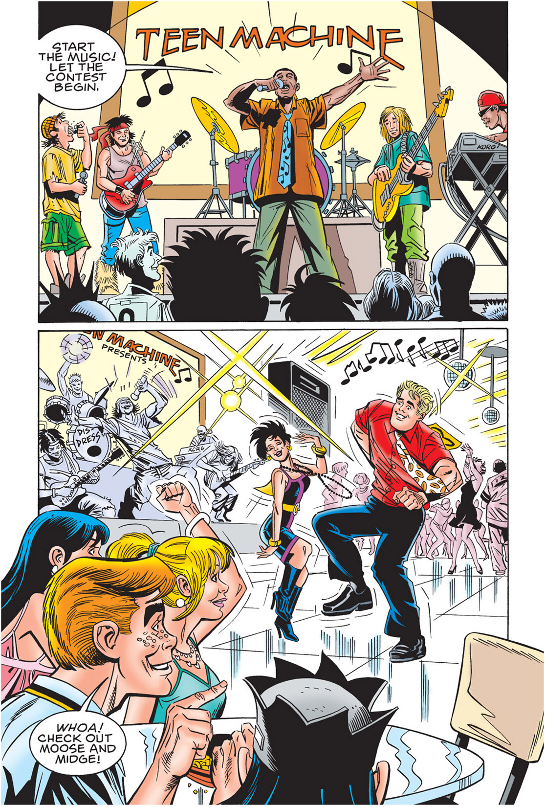 Read online Archie's New Look Series comic -  Issue #3 - 107