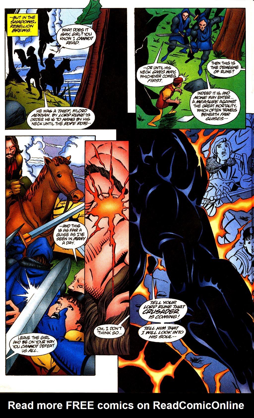 Read online Rune (1995) comic -  Issue #4 - 15