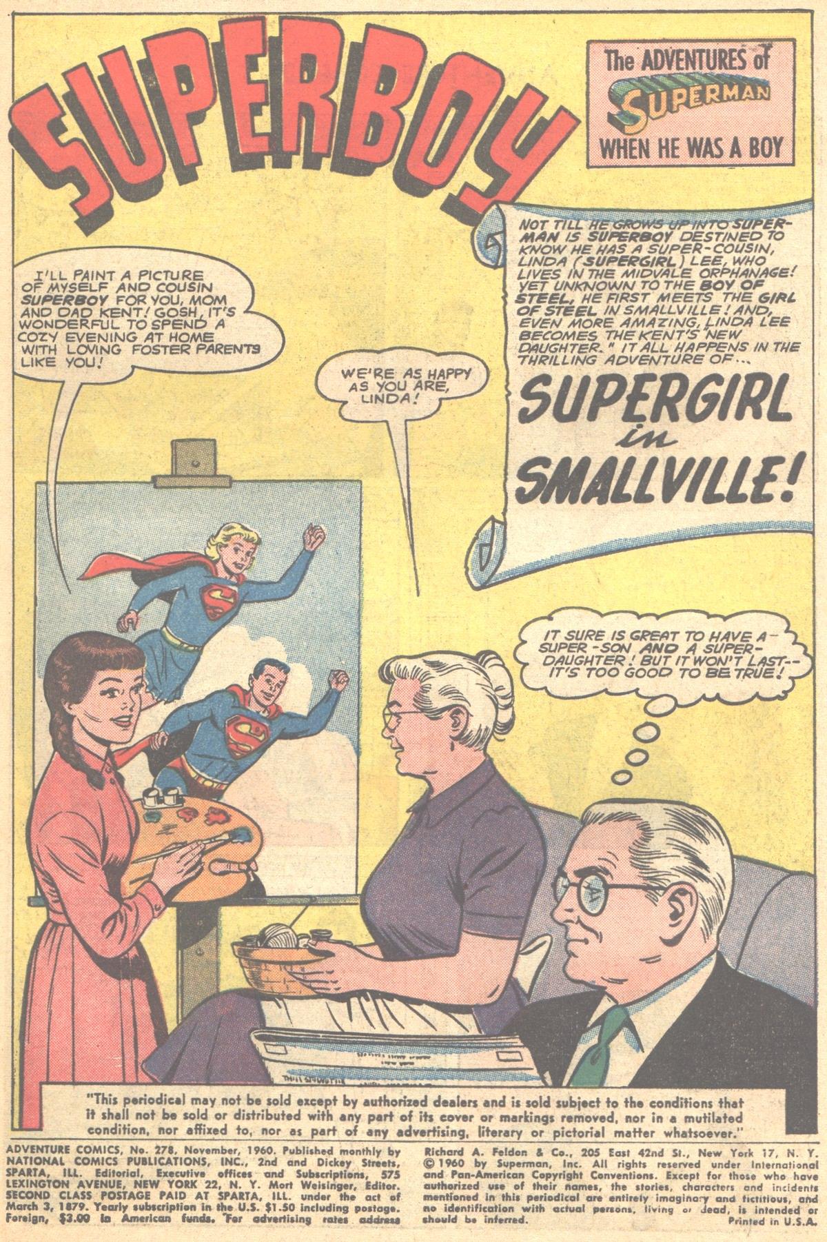 Read online Adventure Comics (1938) comic -  Issue #278 - 3