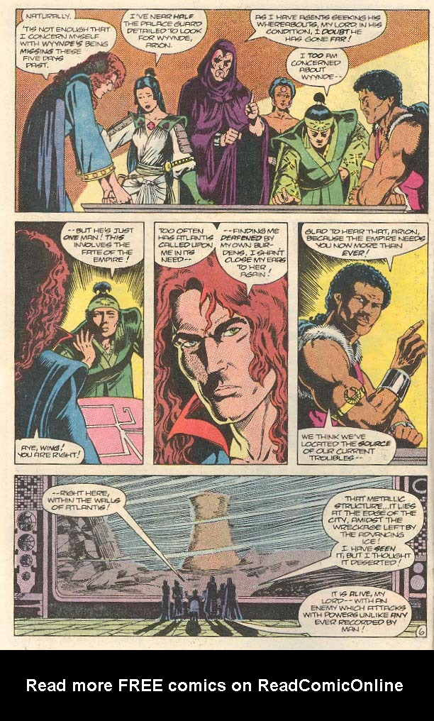 Read online Arion, Lord of Atlantis comic -  Issue #30 - 7