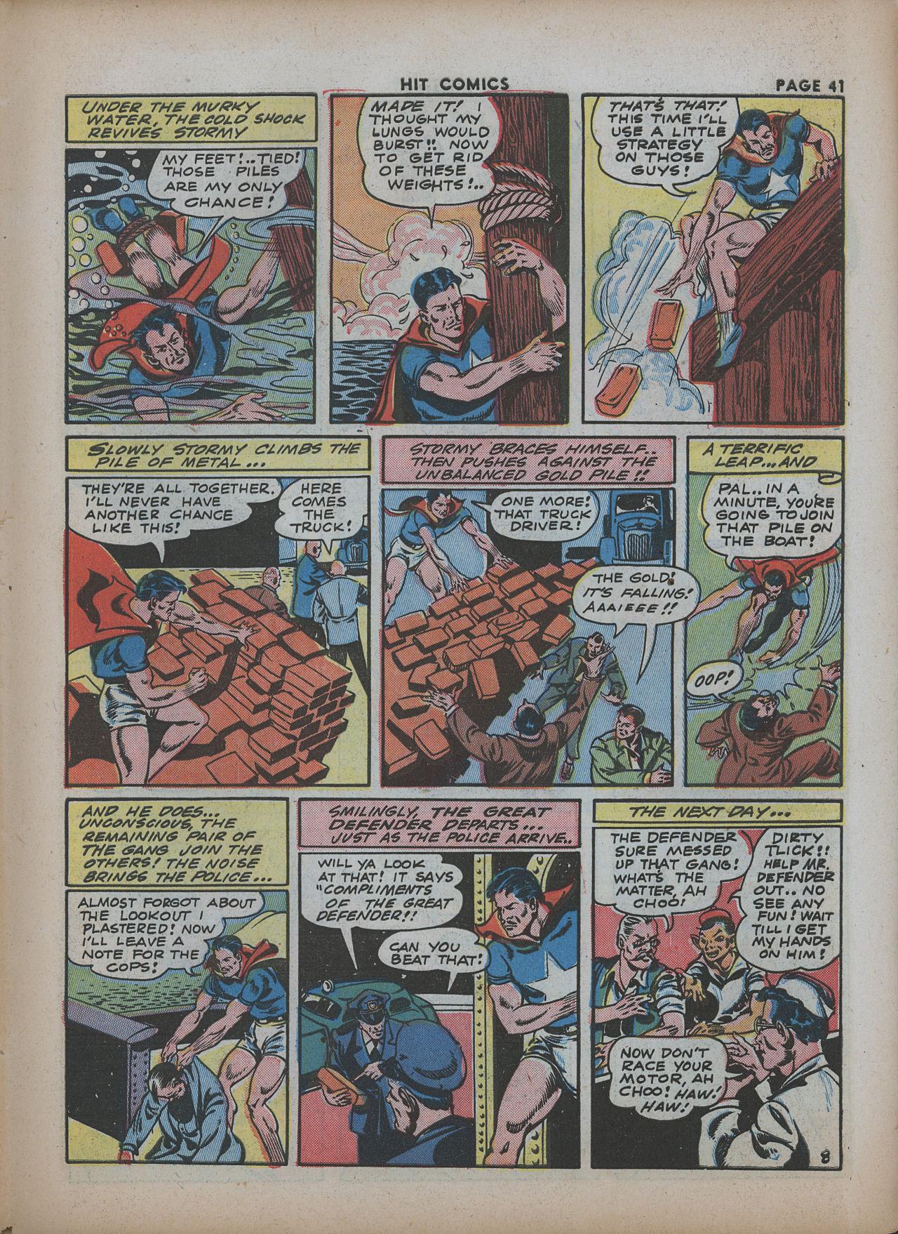 Read online Hit Comics comic -  Issue #26 - 42