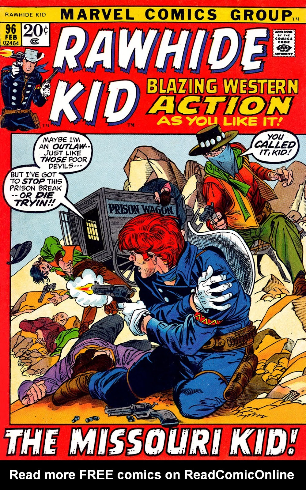 The Rawhide Kid (1955) issue 96 - Page 1