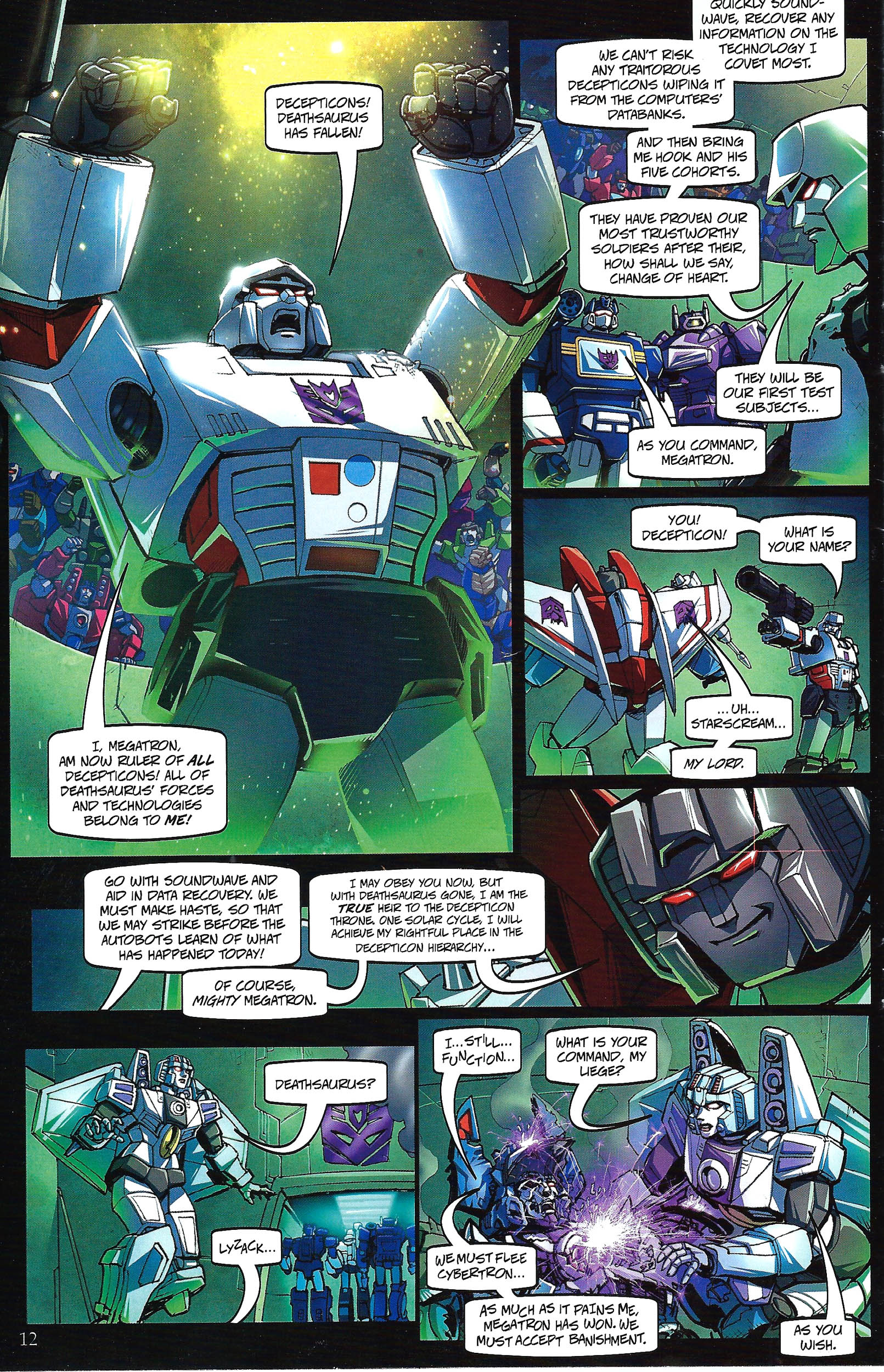Read online Transformers: Collectors' Club comic -  Issue #41 - 12