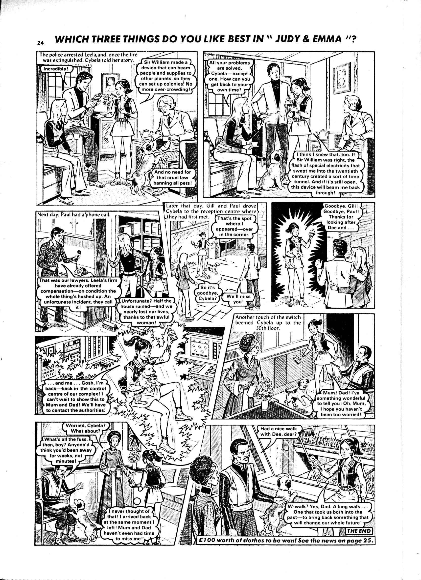Read online Judy comic -  Issue #1049 - 24